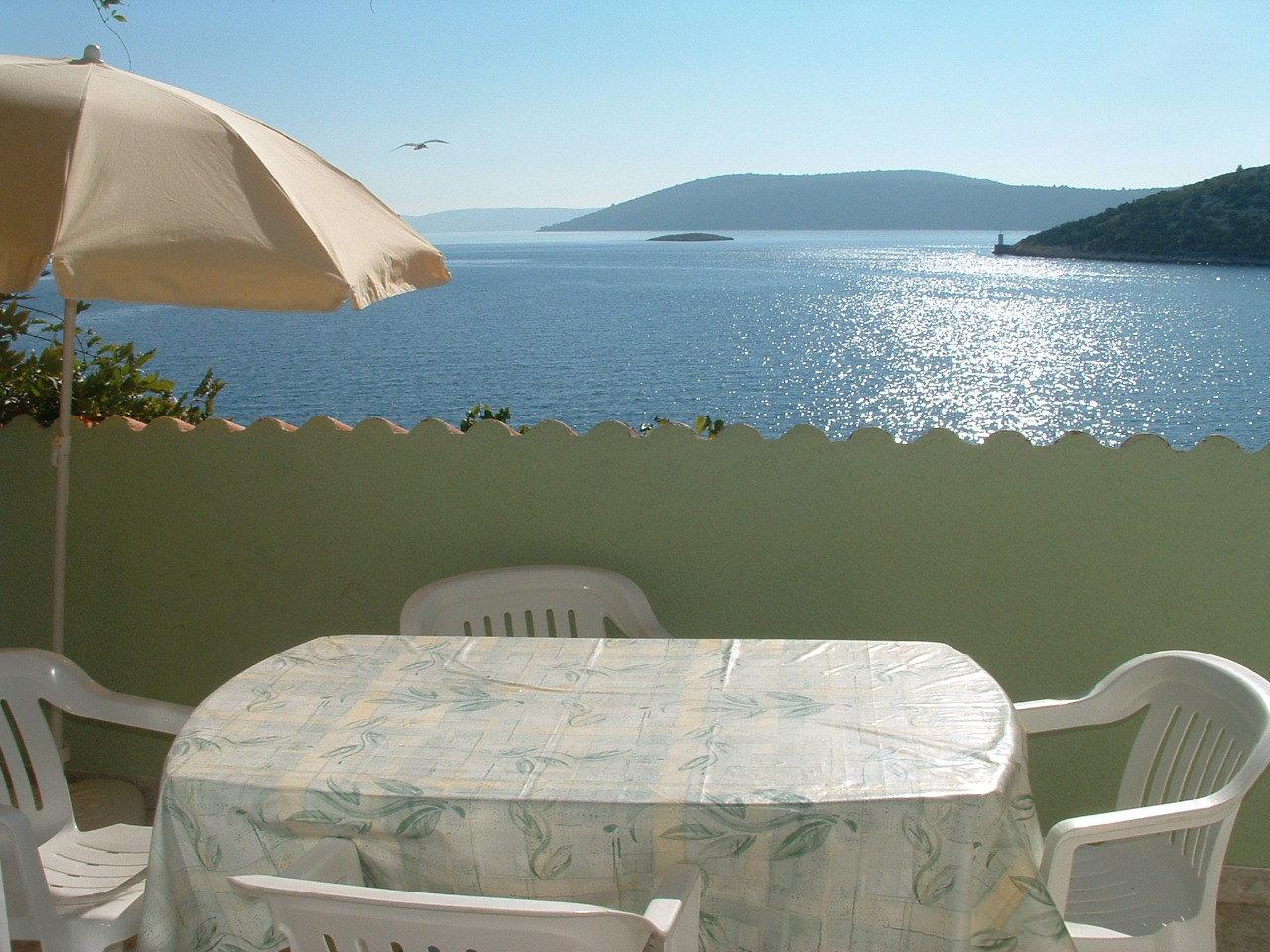 Ante Č - Vinisce - Appartementen Kroatië - A2(2+2): uitzicht op zee