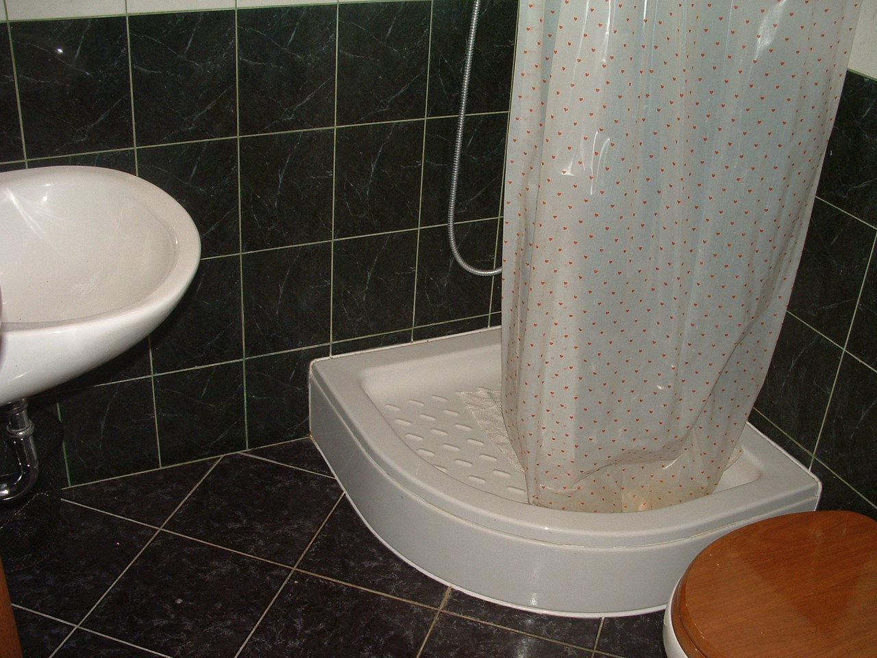 Ante Č - Vinisce - Appartementen Kroatië - A3(3): badkamer met toilet