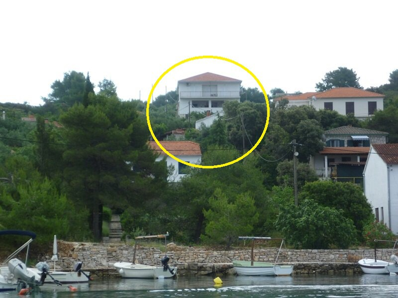 4238 - Necujam - Apartmanok Horvátország