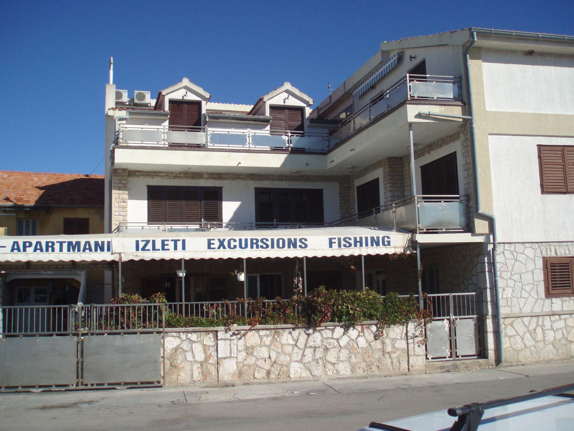 00410JEZE - Йезера - Апартаменты Хорватия