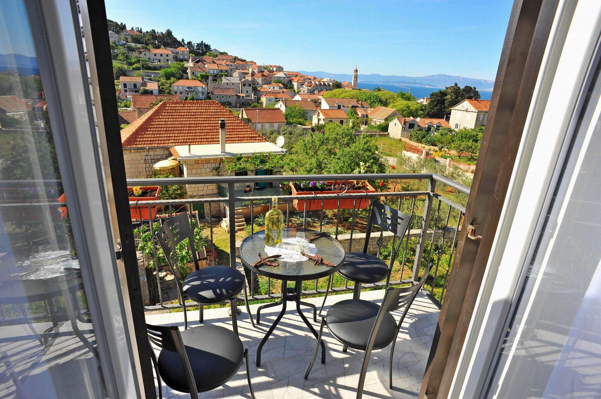 00901SUTI  - Sutivan - Appartements Croatie - A3(2+2): balcon