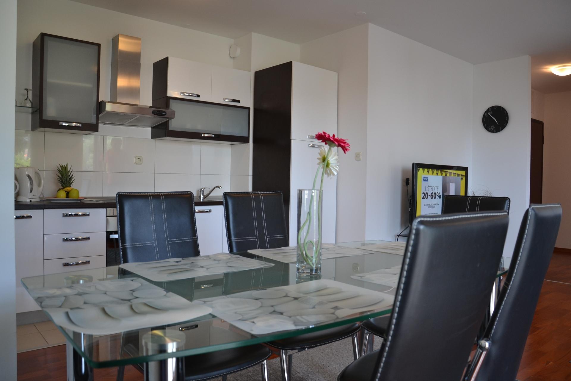 34989  - Trogir - Appartements Croatie - A3(4+2): cuisine salle à manger