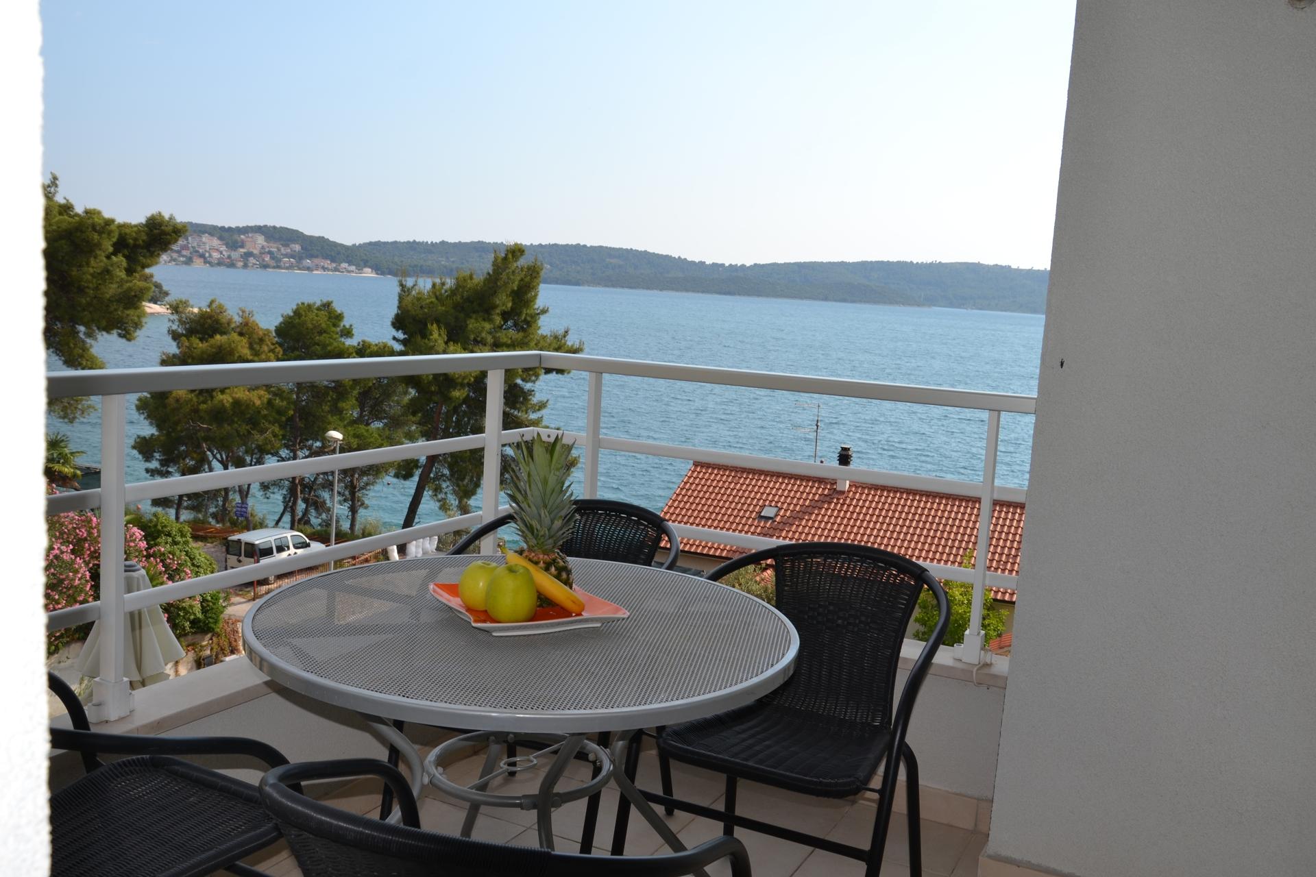 34989  - Trogir - Appartements Croatie - A3(4+2): terrasse