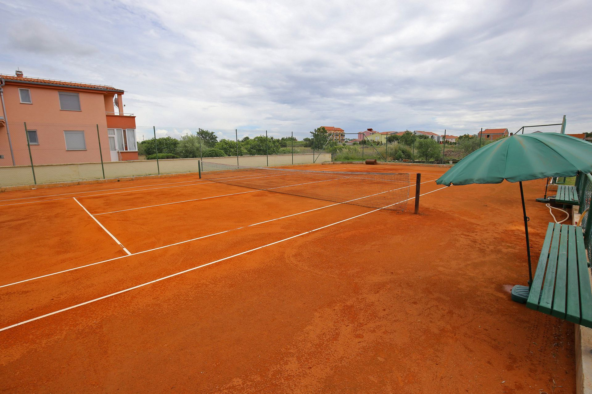 00418ZATZ - Zaton (Zadar) - Apartments Croatia - tennis court