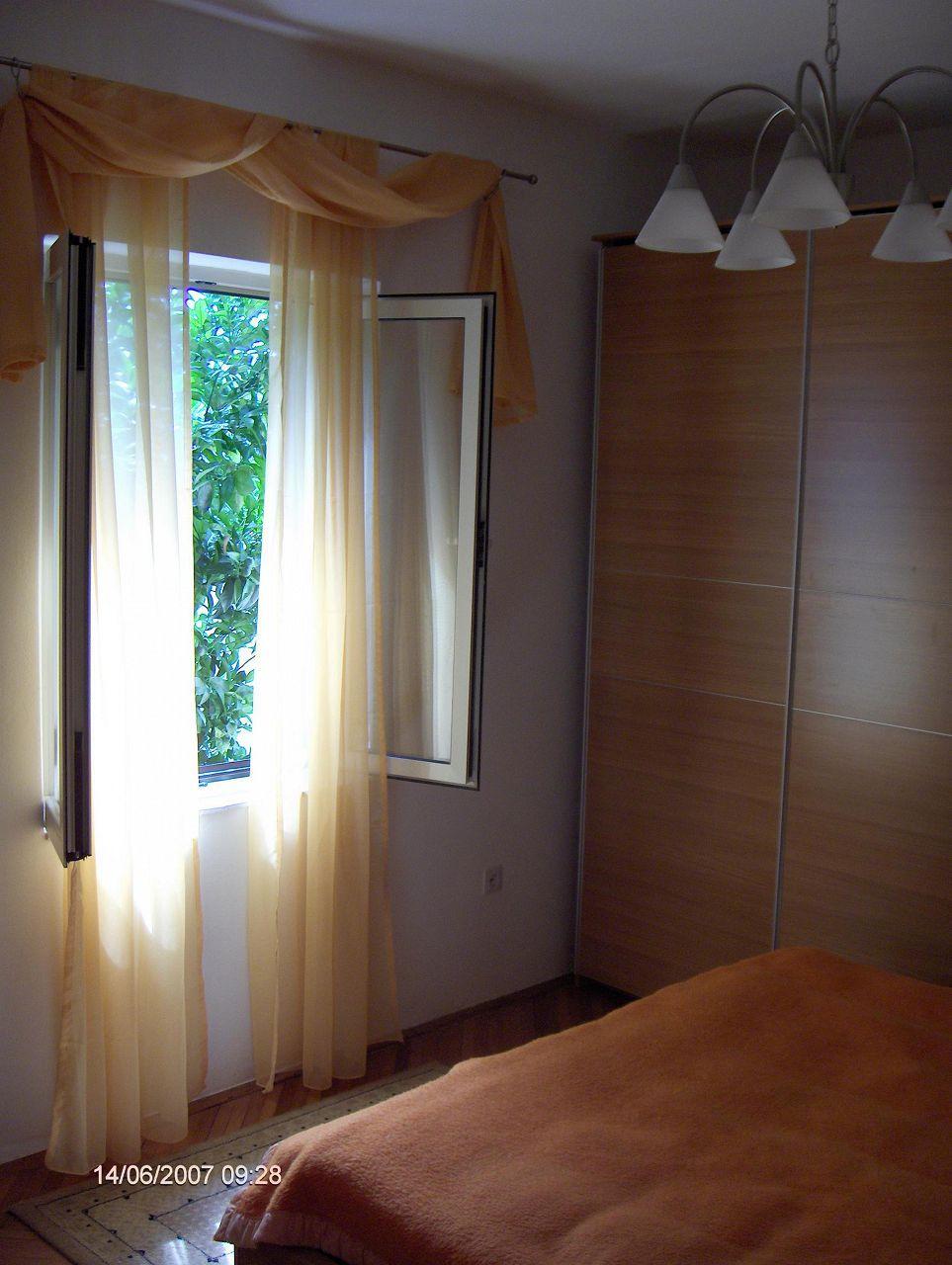 0203VRBO - Vrboska - Appartementen Kroatië - R1(2): slaapkamer