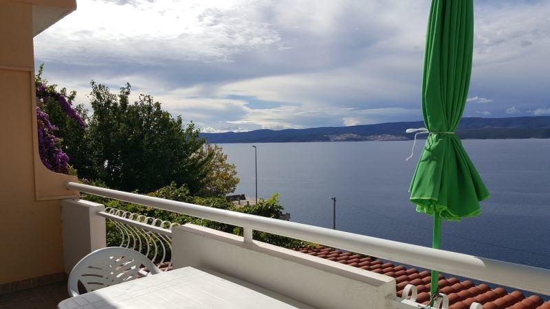 Nina - Celina Zavode - Appartementen Kroatië - A3(5): balkon
