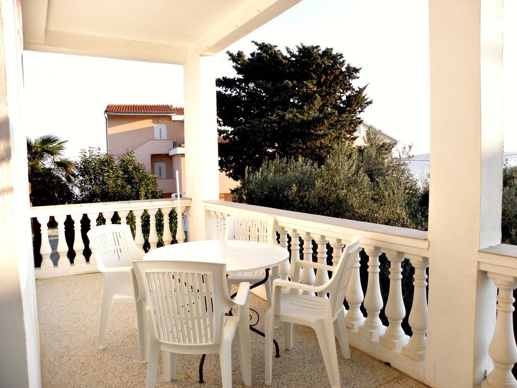 Gorda - Zadar - Appartamenti Croazia - A1(5): la terrazza