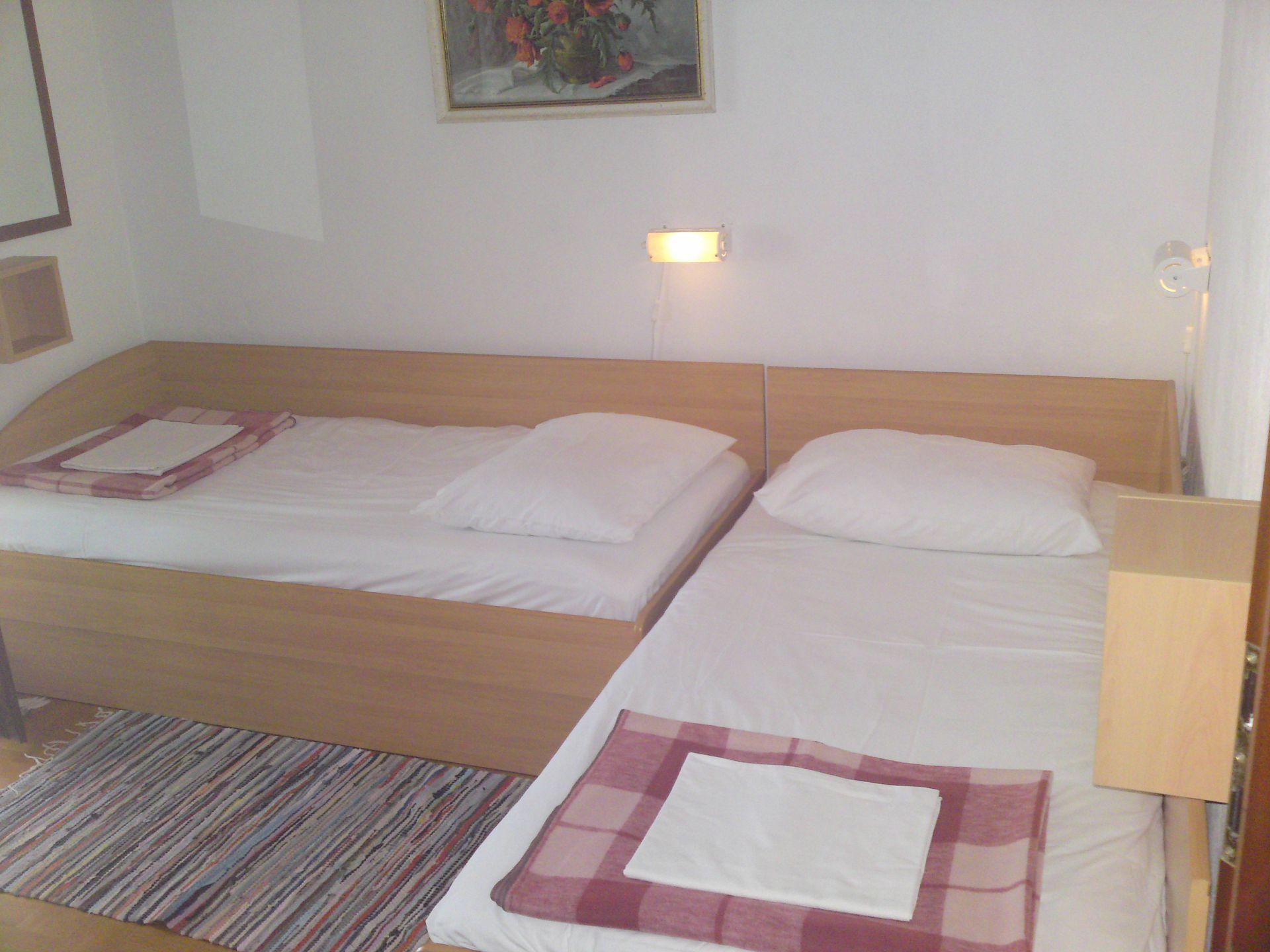 00209PISA  - Pisak - Ferienwohnungen Kroatien - A1 Zapad (2+2): Schlafzimmer