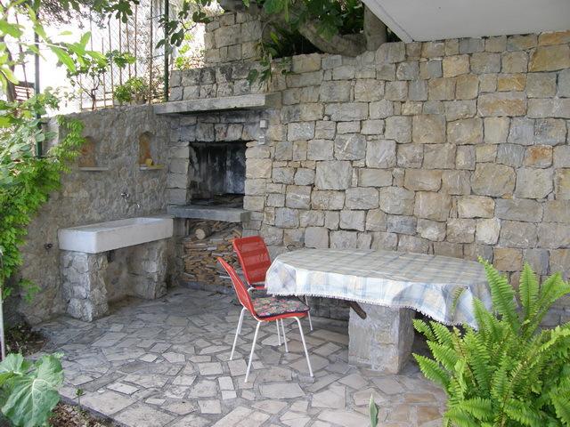 00209PISA  - Pisak - Ferienwohnungen Kroatien - A1 Zapad (2+2): Terasse