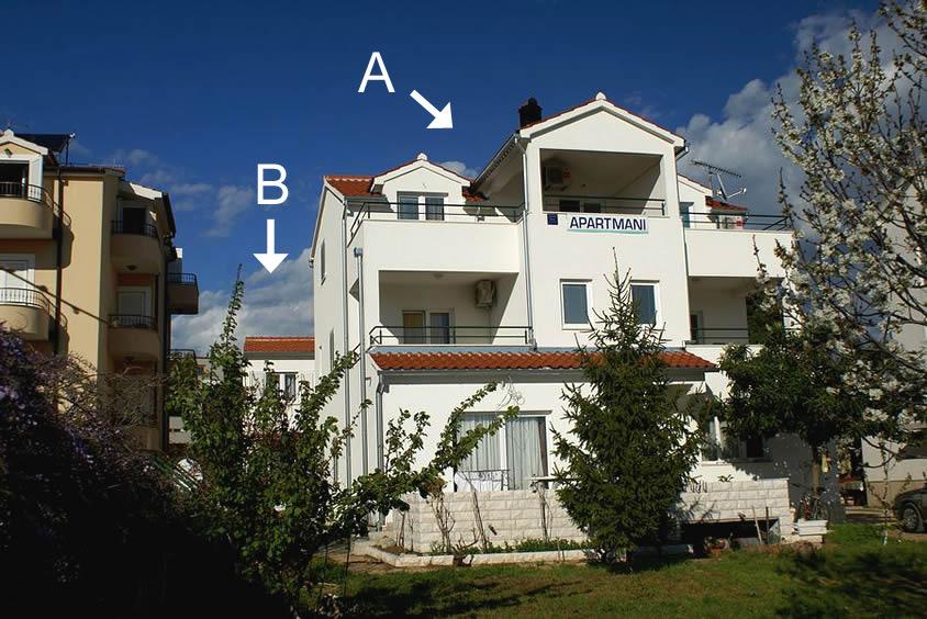 35398  - Tribunj - Ferienwohnungen Kroatien