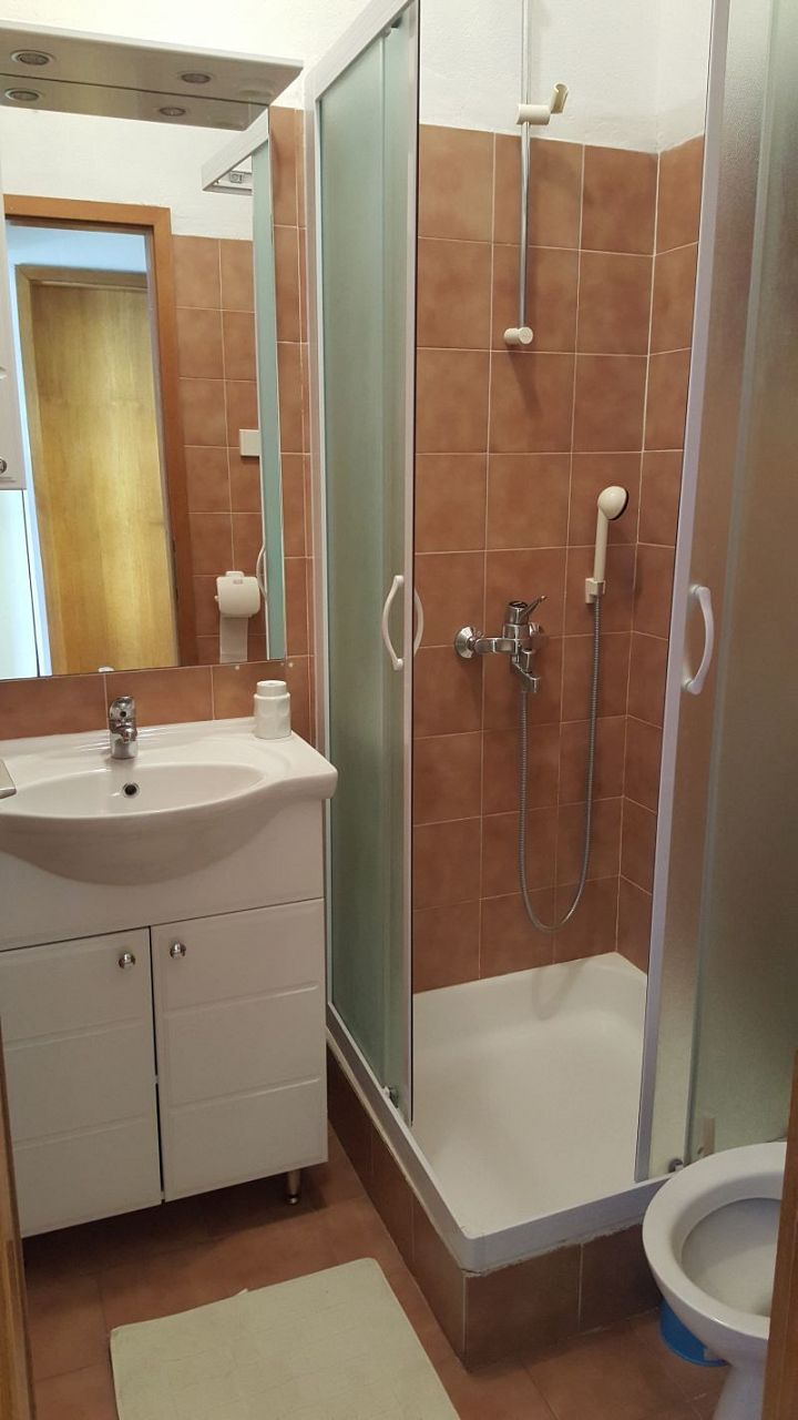 Nina - Celina Zavode - Appartementen Kroatië - A3(5): badkamer met toilet