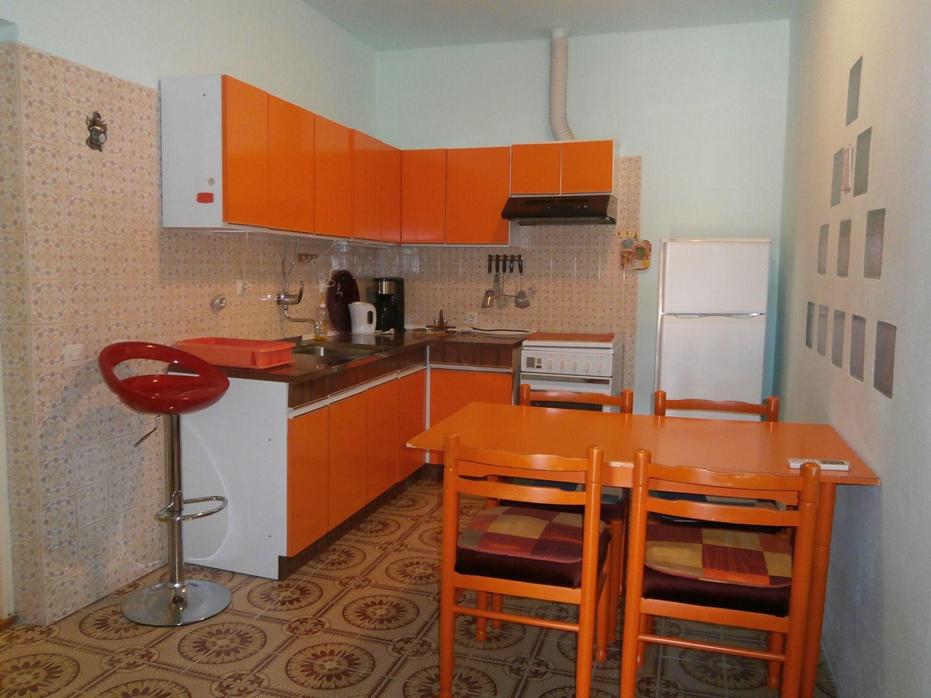 4981  - Jelsa - Appartementen Kroatië - A1(2+2): keuken en eetkamer