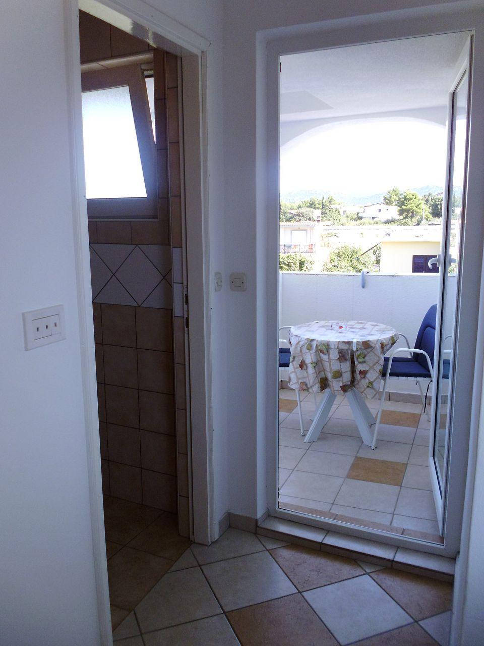 A00106PIRO - Pirovac - Ferienwohnungen Kroatien - SA1(2+1): Terasse