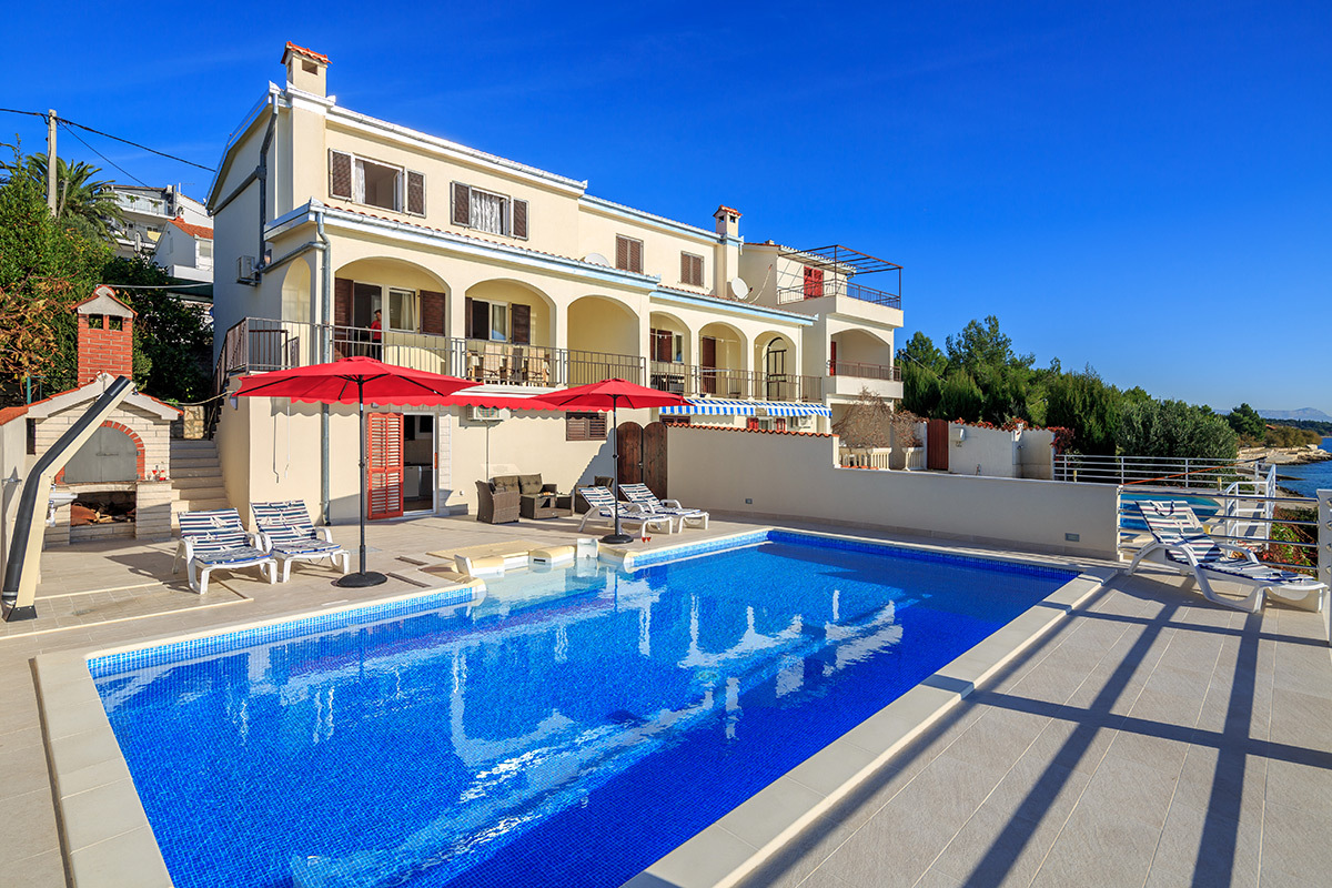 35586 - Seget Vranjica - Maisons de repos, villas Croatie