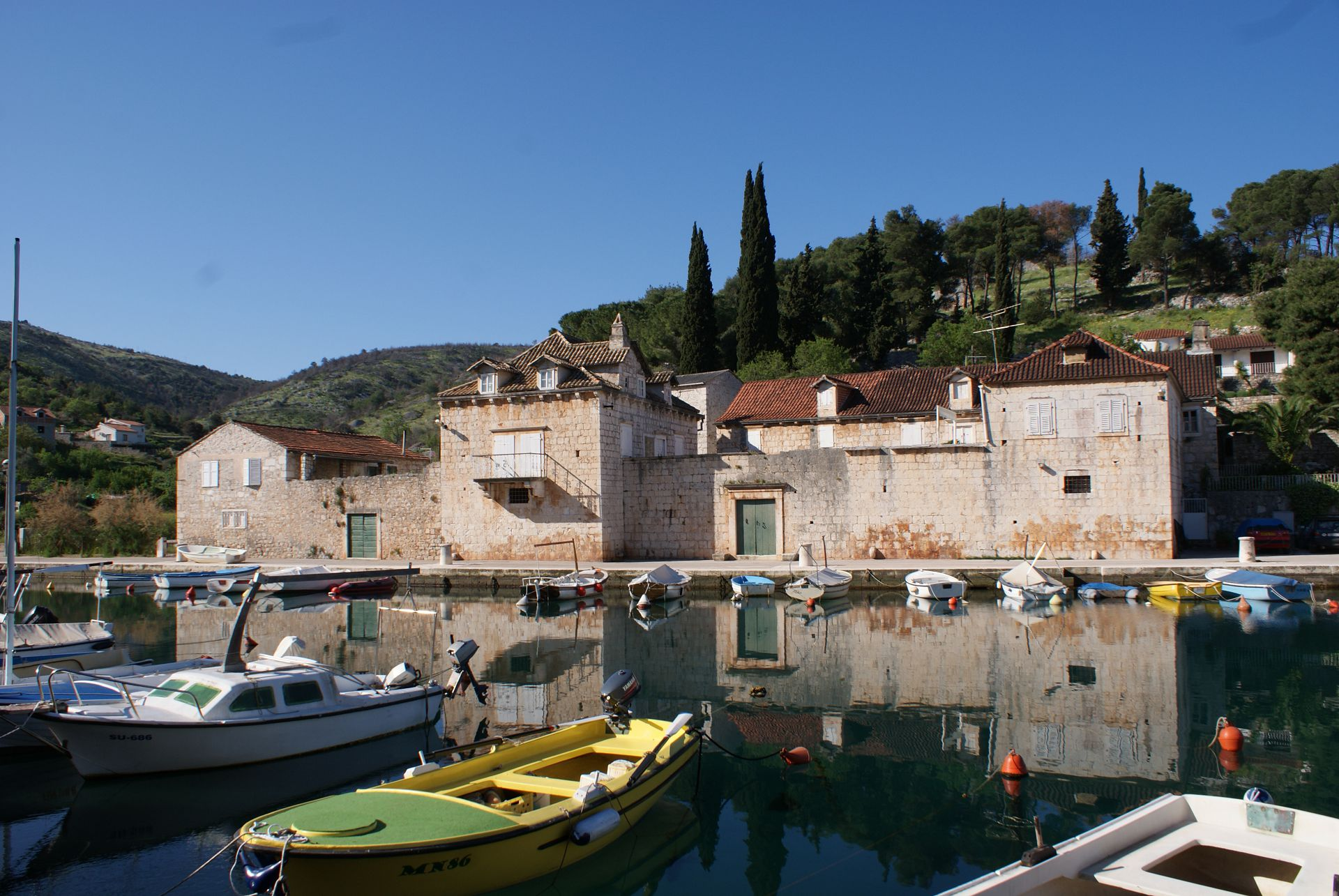 35961  - Bobovisca - Appartementen Kroatië