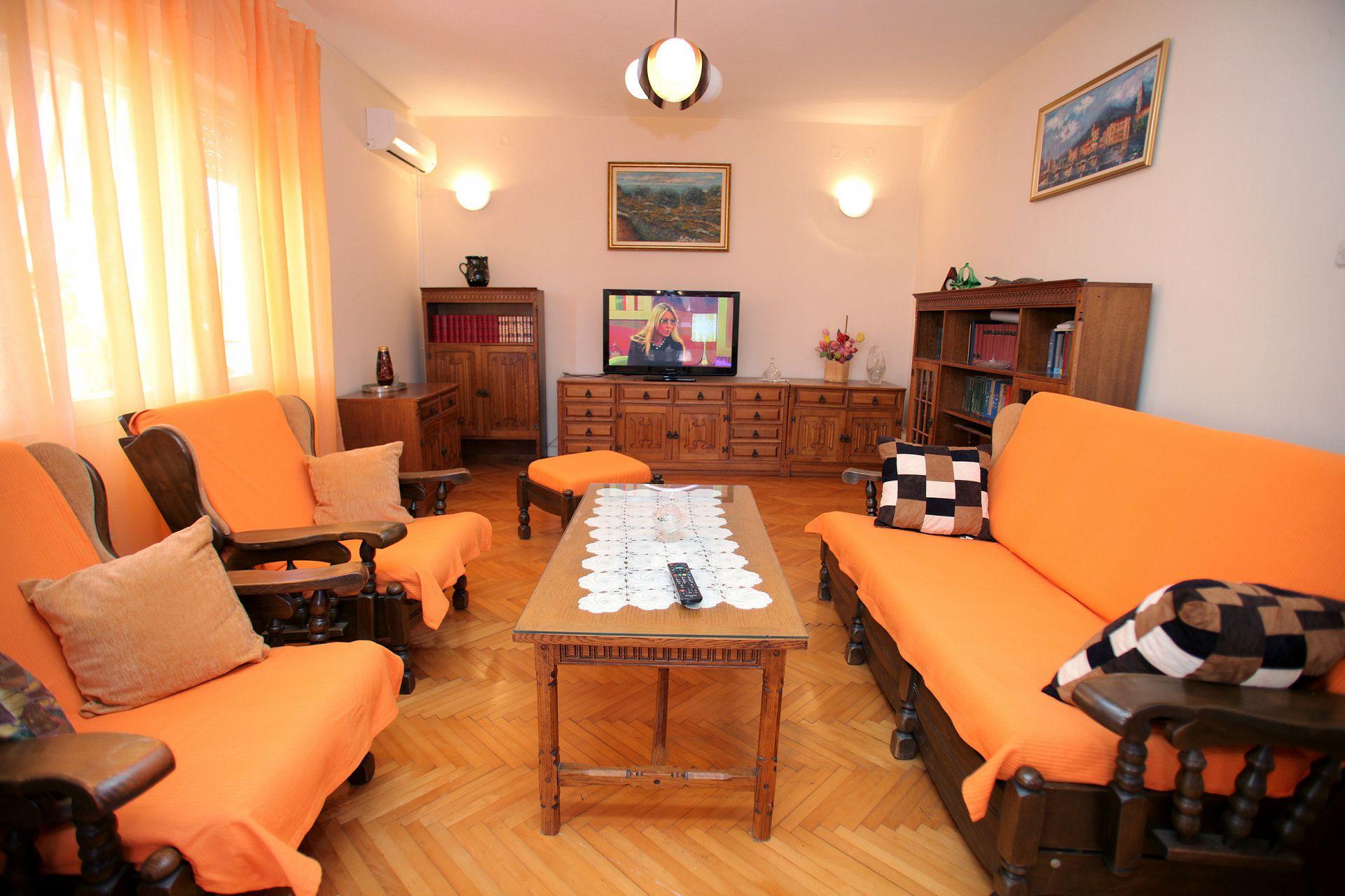 01707TROG  - Trogir - Appartements Croatie - A4(6): séjour