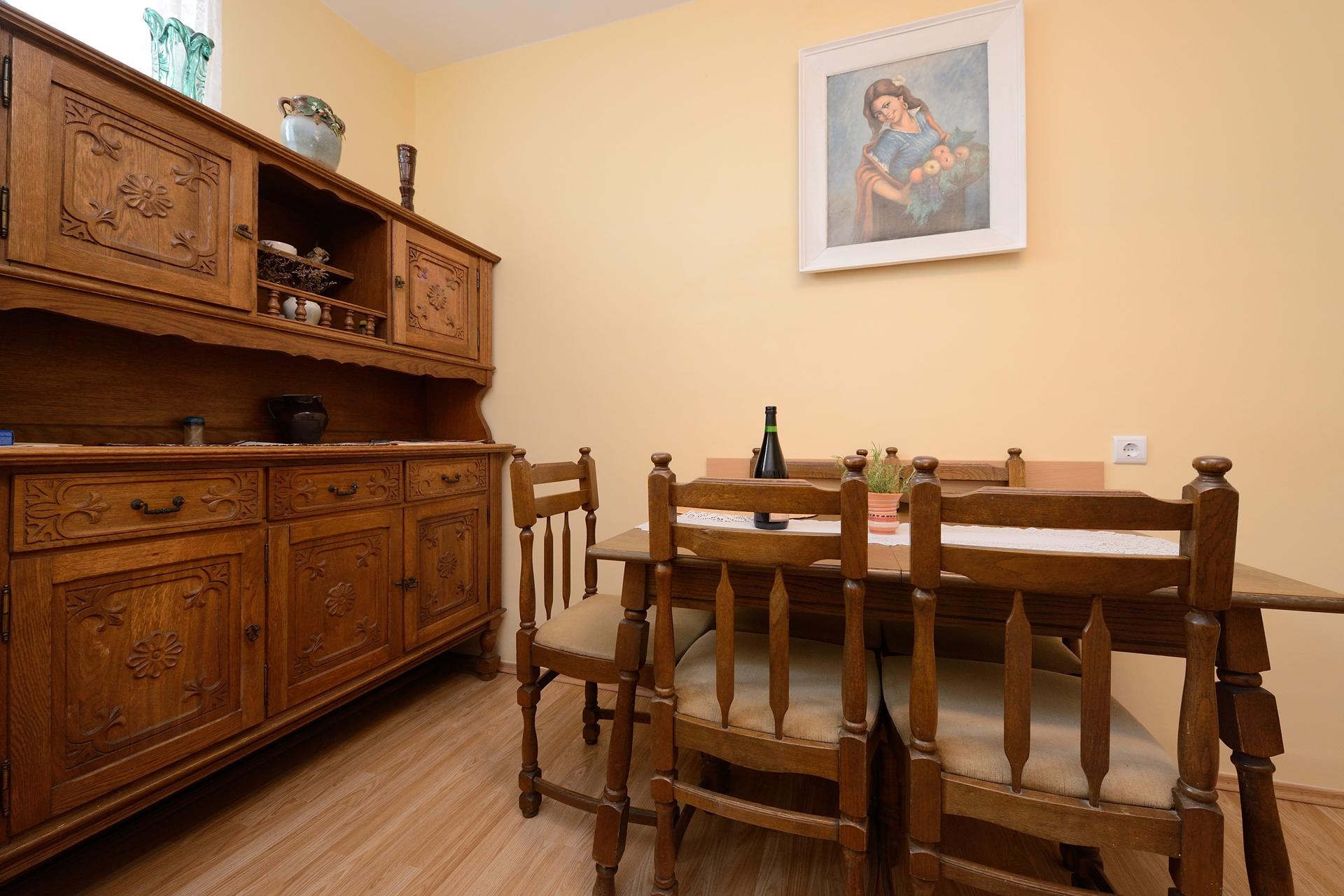 Martin - Lukoran - Vakantiehuizen, villa´s Kroatië - H(8): eetkamer