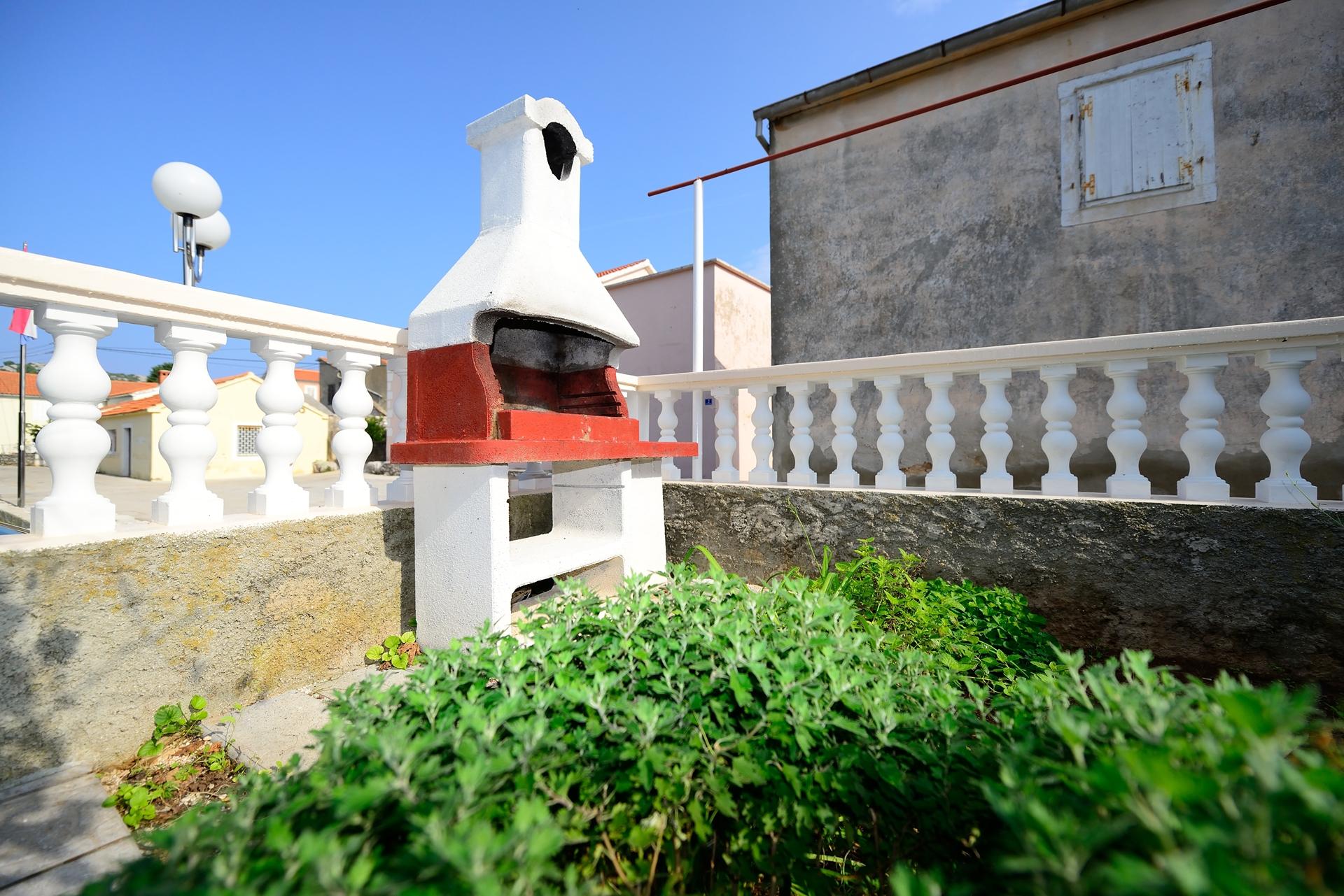 Martin - Lukoran - Vakantiehuizen, villa´s Kroatië - barbecue