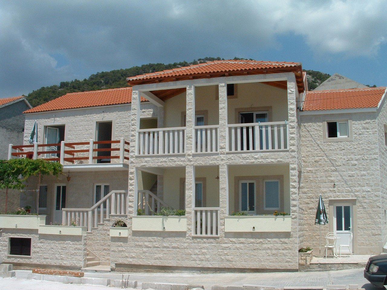 008BOL - Bol - Ferienwohnungen Kroatien