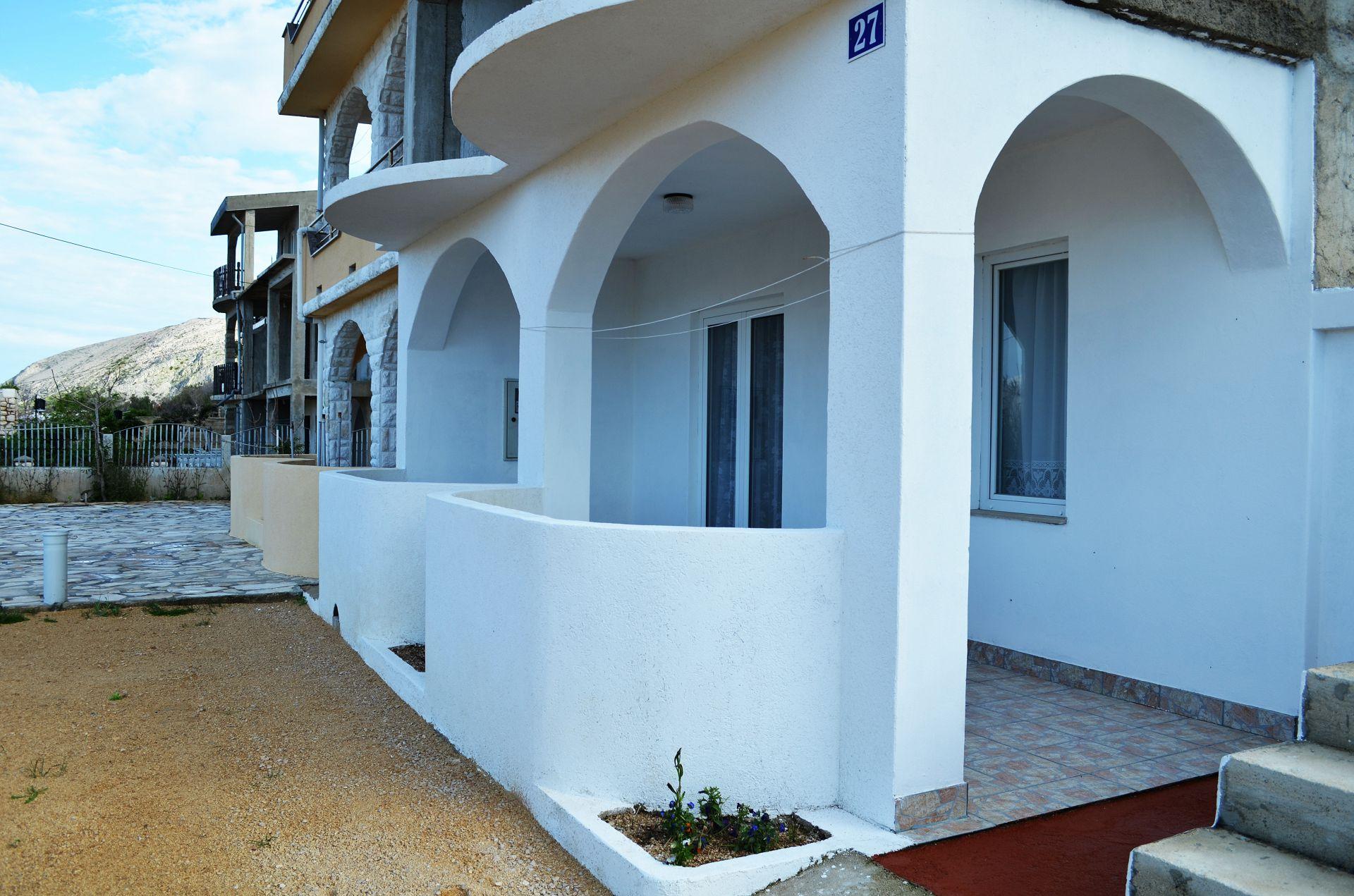 5882 - Pag - Appartementen Kroatië