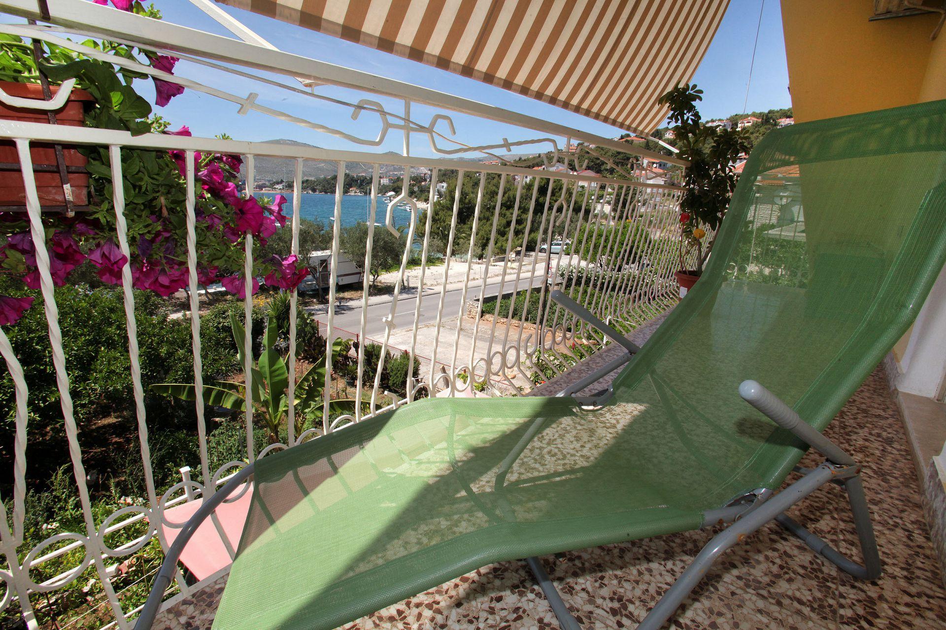 01707TROG  - Trogir - Appartements Croatie - A4(6): terrasse