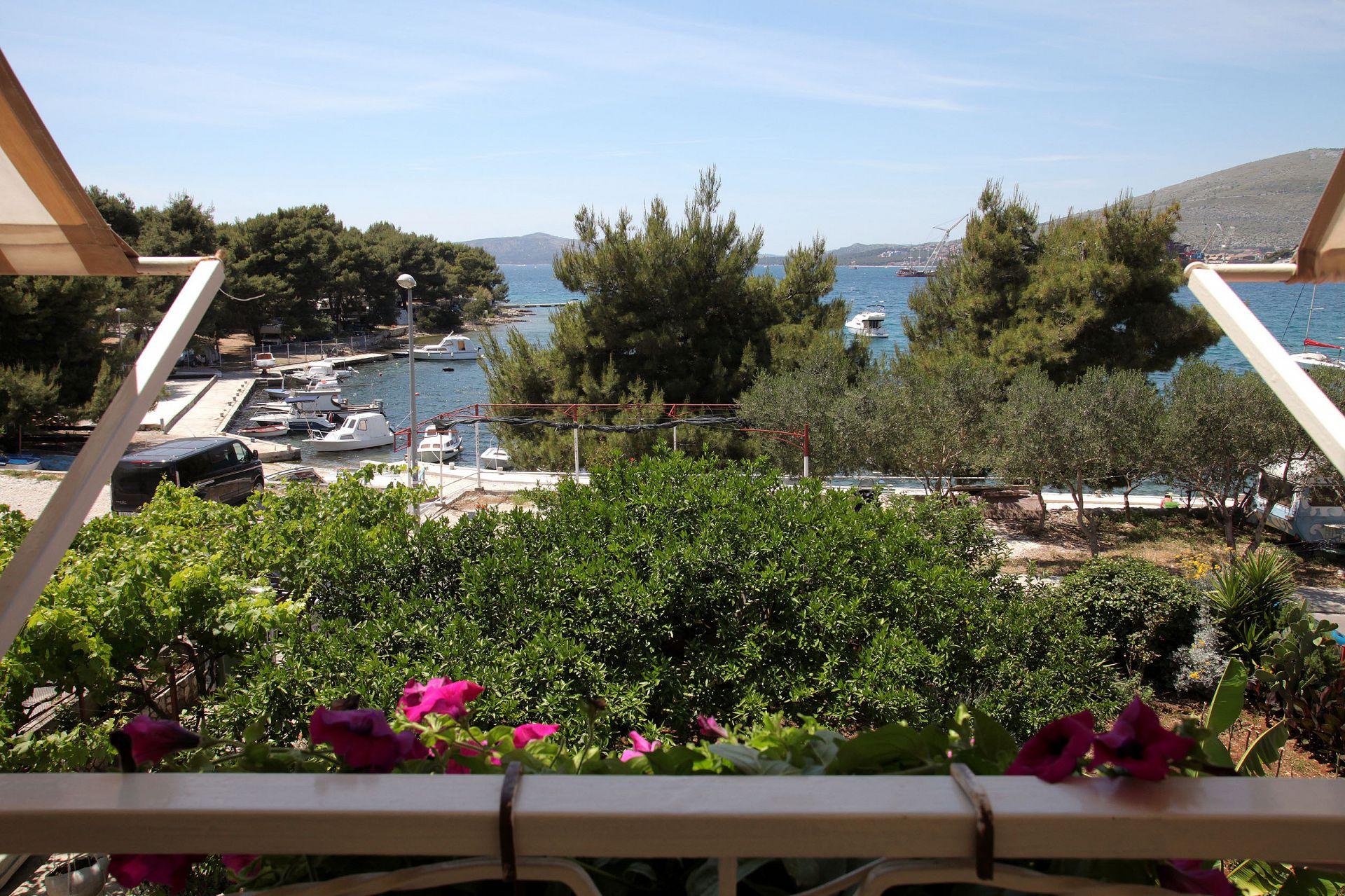 01707TROG  - Trogir - Appartements Croatie - A4(6): vue