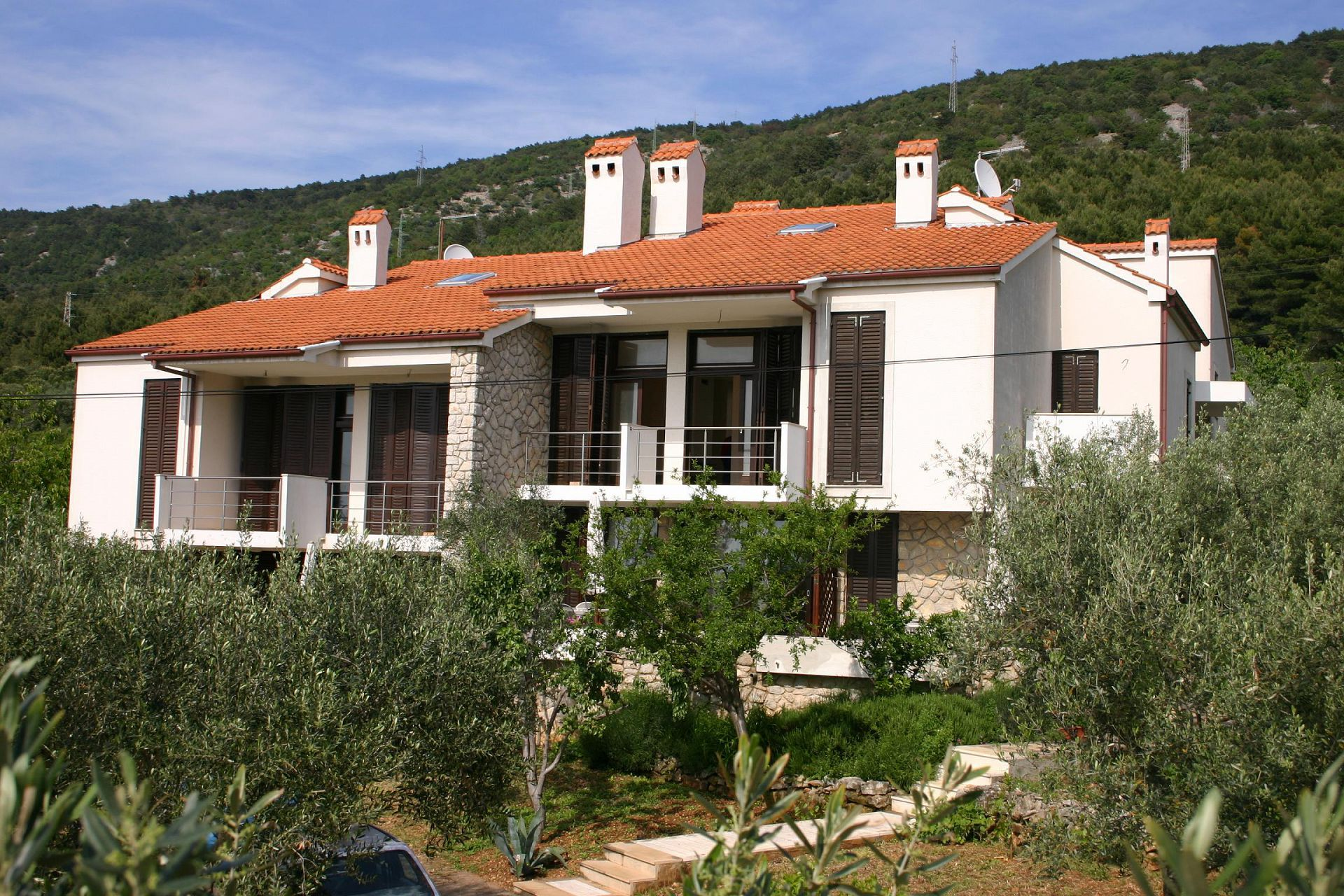 Apartments, Cres, Island of Cres - Apartments  Forna - free parking: