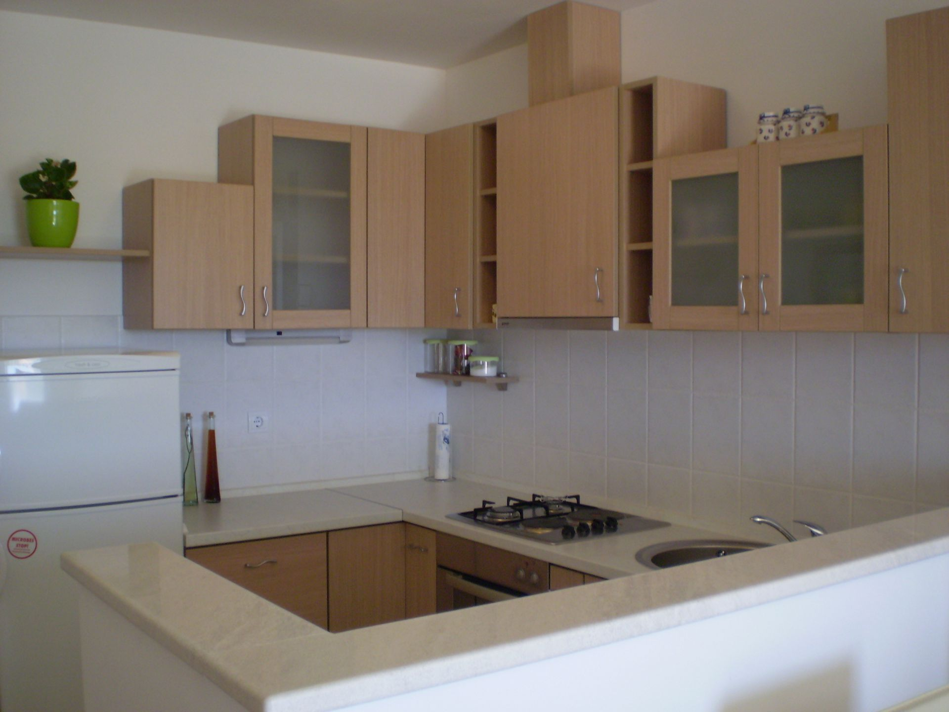 001HVAR - Hvar - Appartementen Kroatië - A1(4): keuken