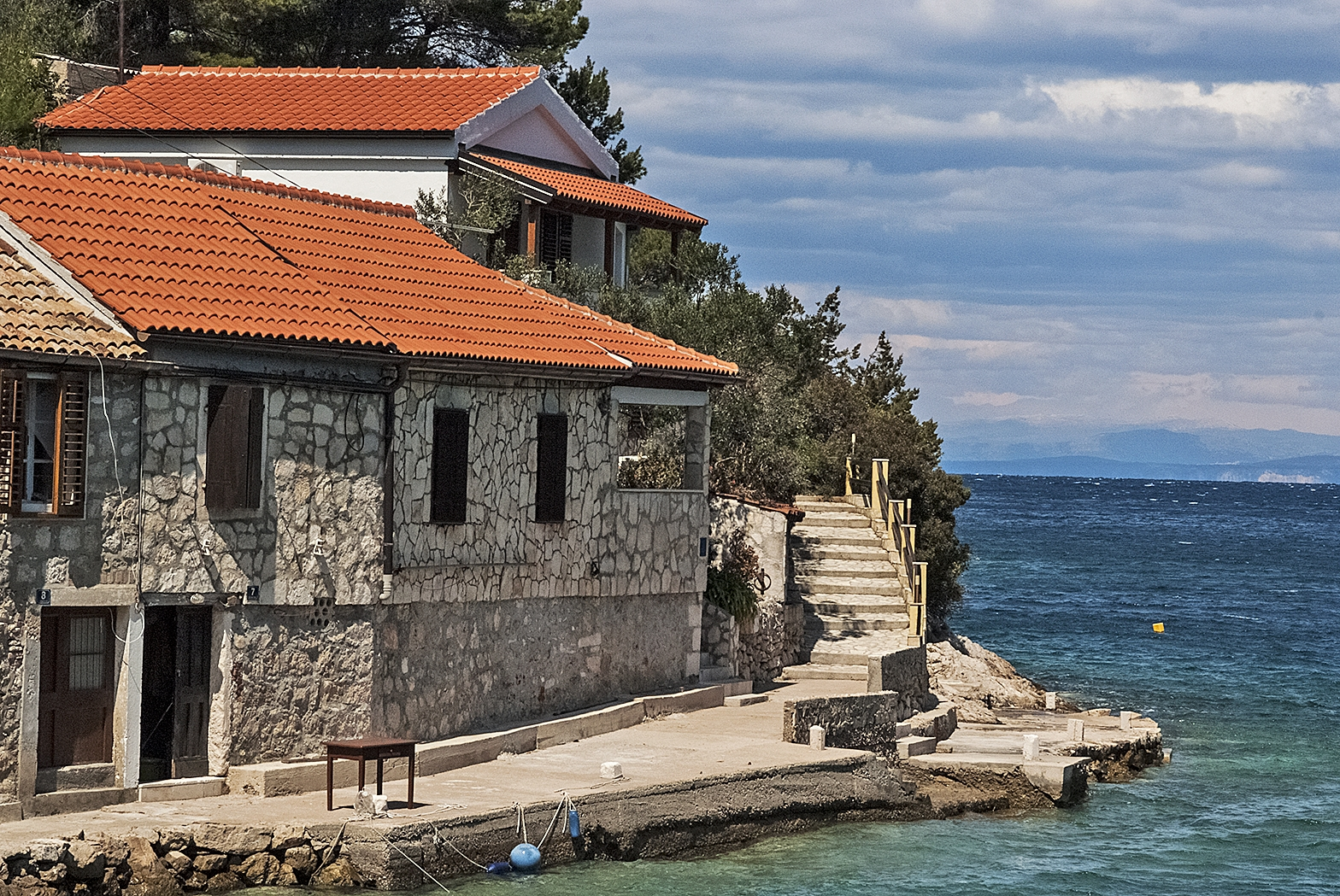IL - Baai Stoncica (Vis) - Vakantiehuizen, villa´s Kroatië - huis