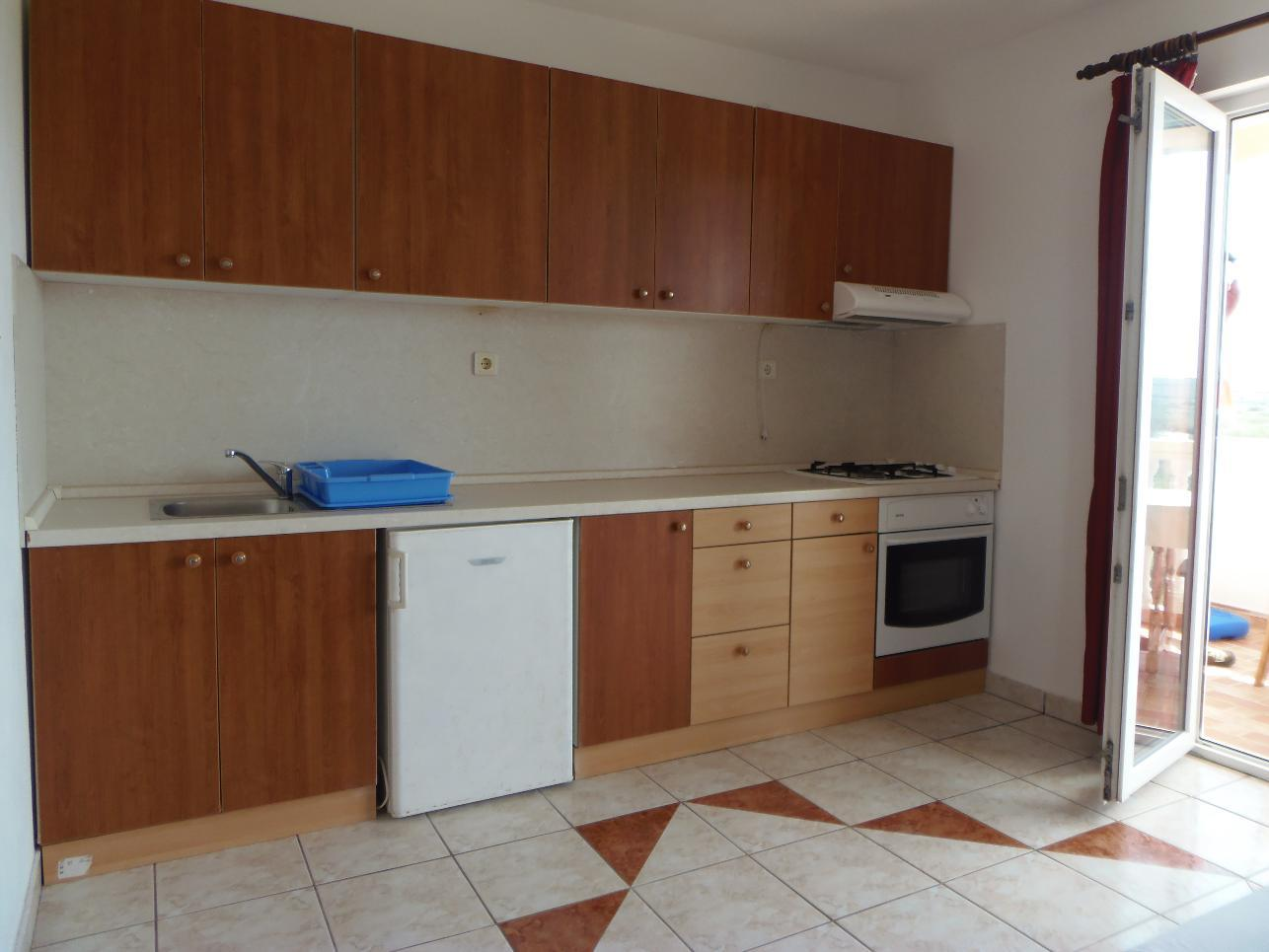 2235 - Povljana - Appartementen Kroatië - A2 veliki (2+2): keuken
