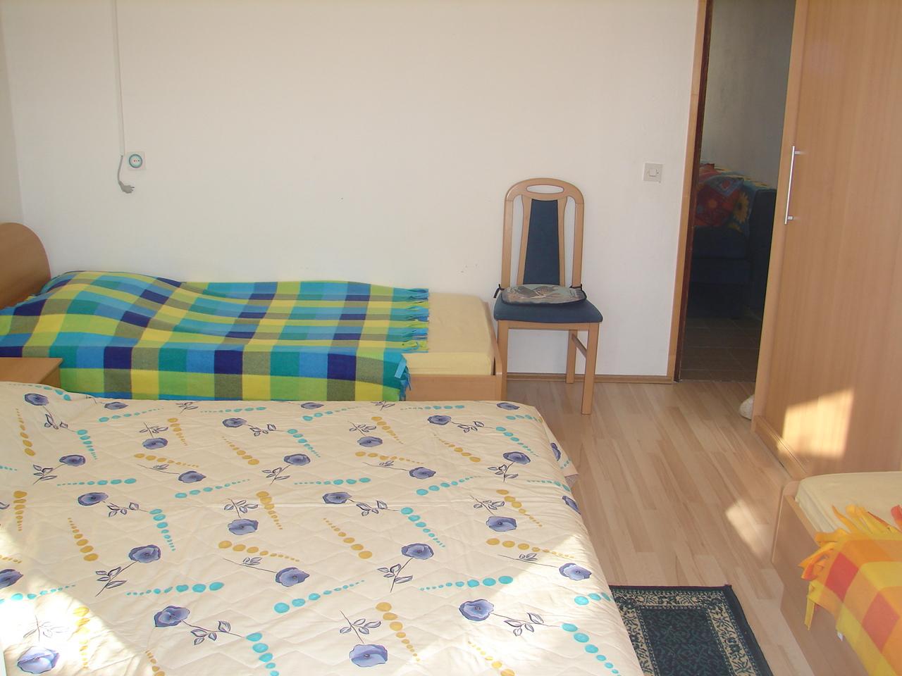 00217VIGA - Viganj - Appartamenti Croazia - A1(4+1): la camera da letto