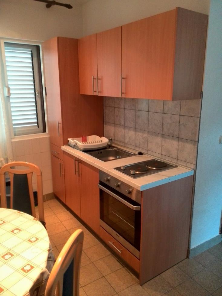 00217VIGA - Viganj - Appartamenti Croazia - A1(4+1): la cucina