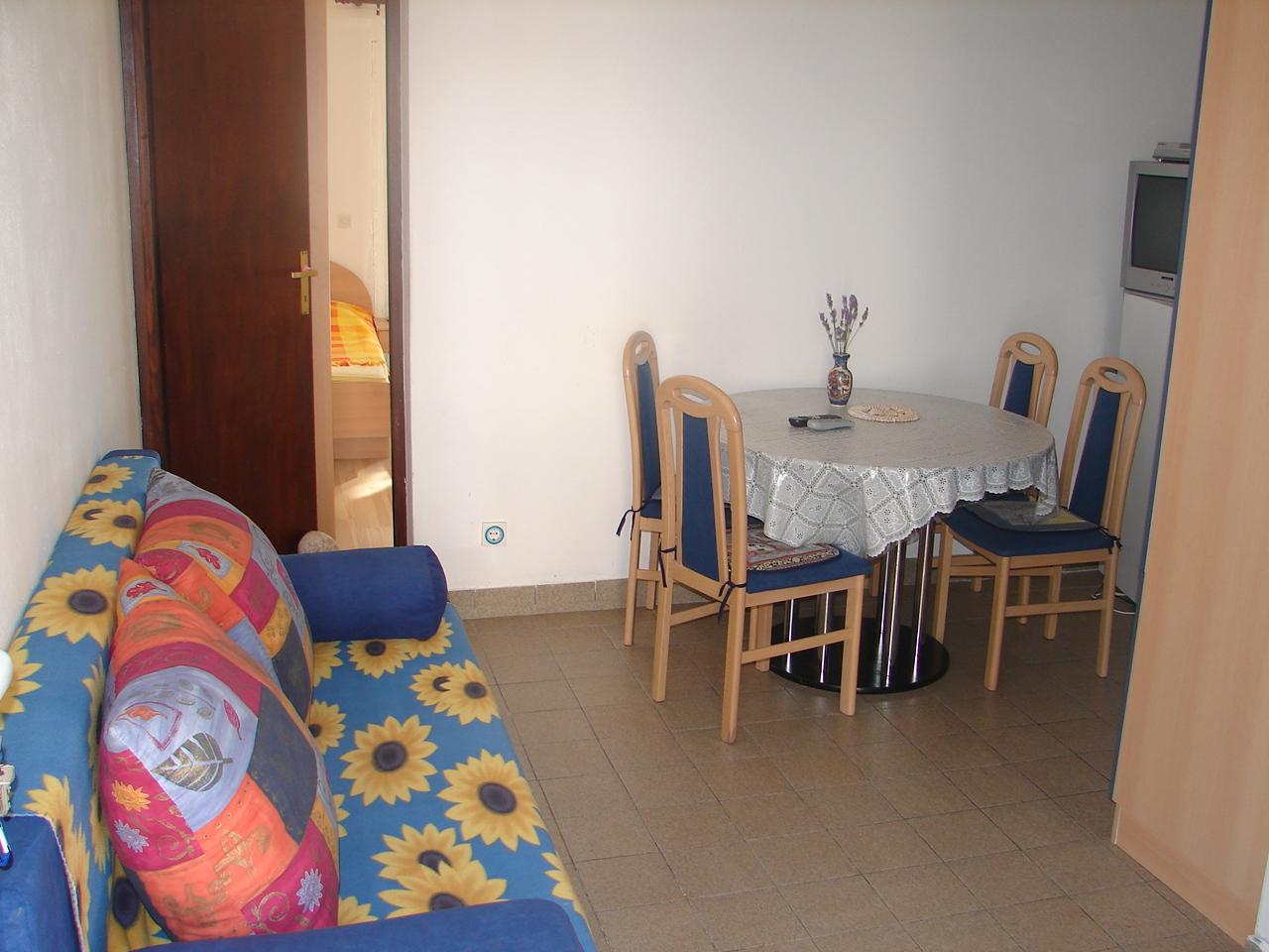 00217VIGA - Viganj - Appartamenti Croazia - A1(4+1): il soggiorno