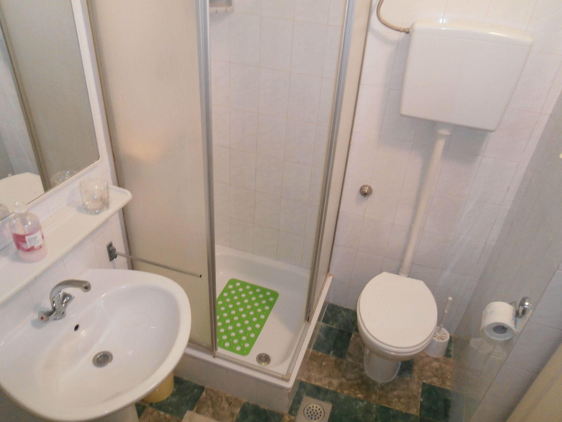 4981  - Jelsa - Appartementen Kroatië - A1(2+2): badkamer met toilet
