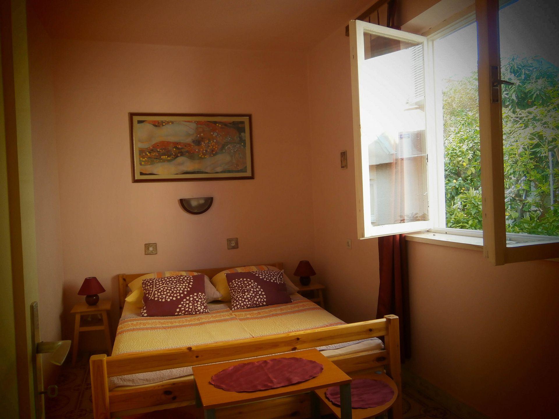 4981  - Jelsa - Appartementen Kroatië - A1(2+2): slaapkamer