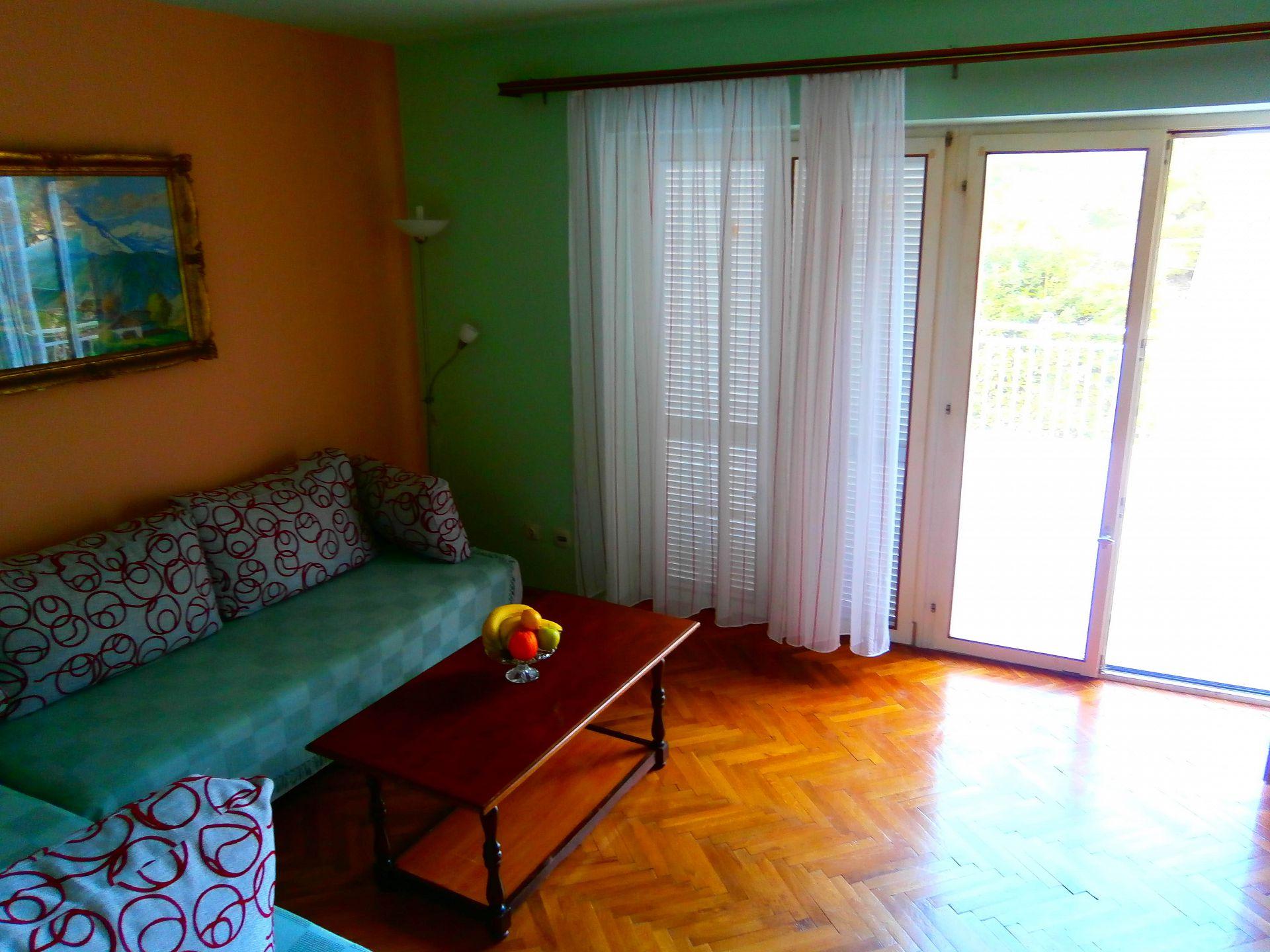 4981  - Jelsa - Appartementen Kroatië - A1(2+2): woonkamer