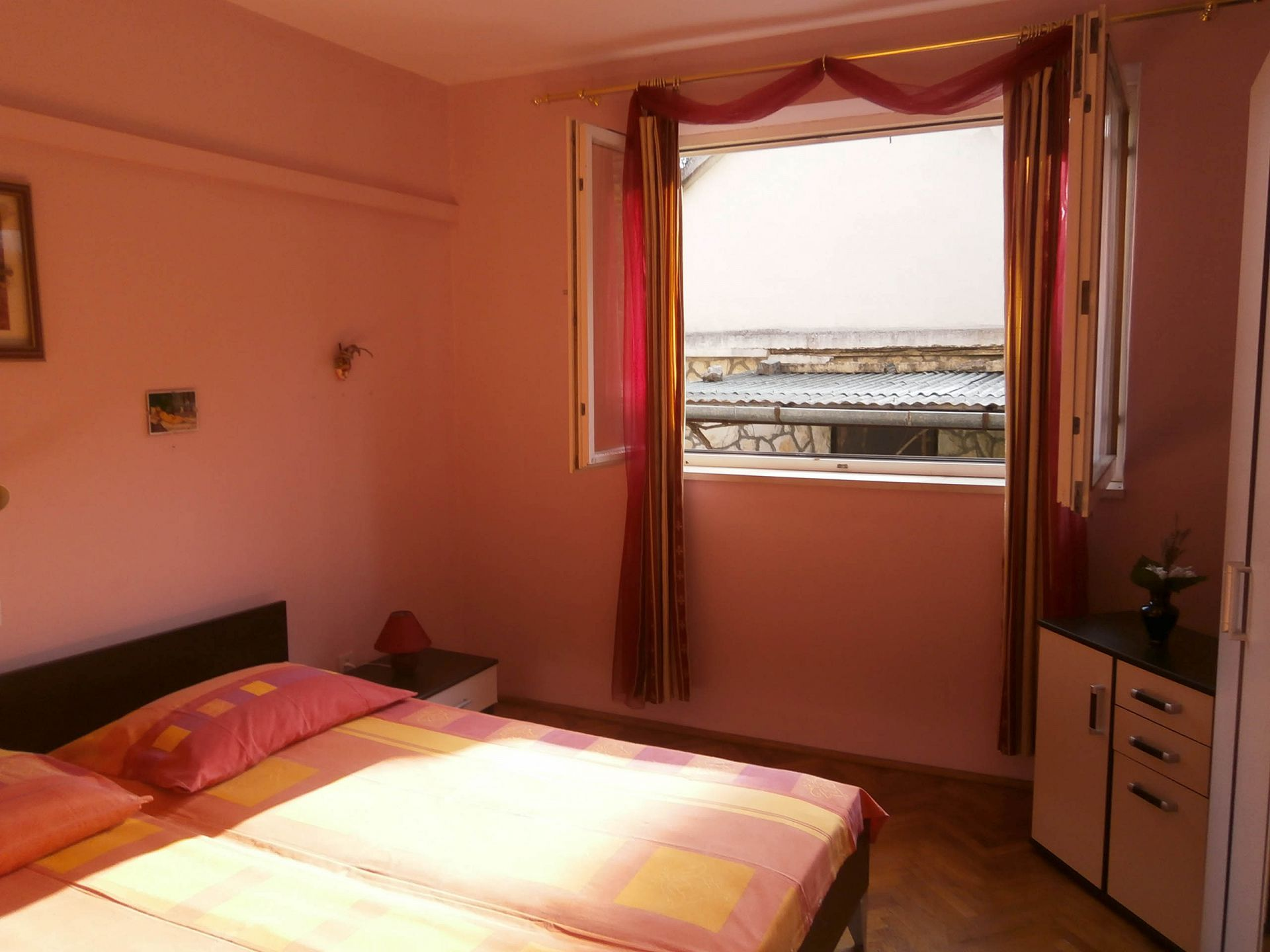 4981  - Jelsa - Appartementen Kroatië - A2(2+2): slaapkamer