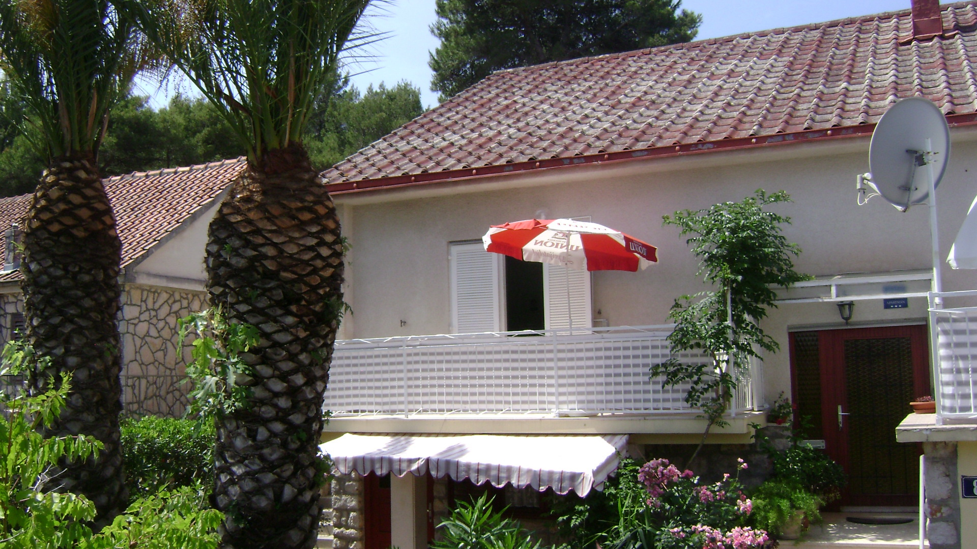 4981  - Jelsa - Appartementen Kroatië - A2(2+2): terras