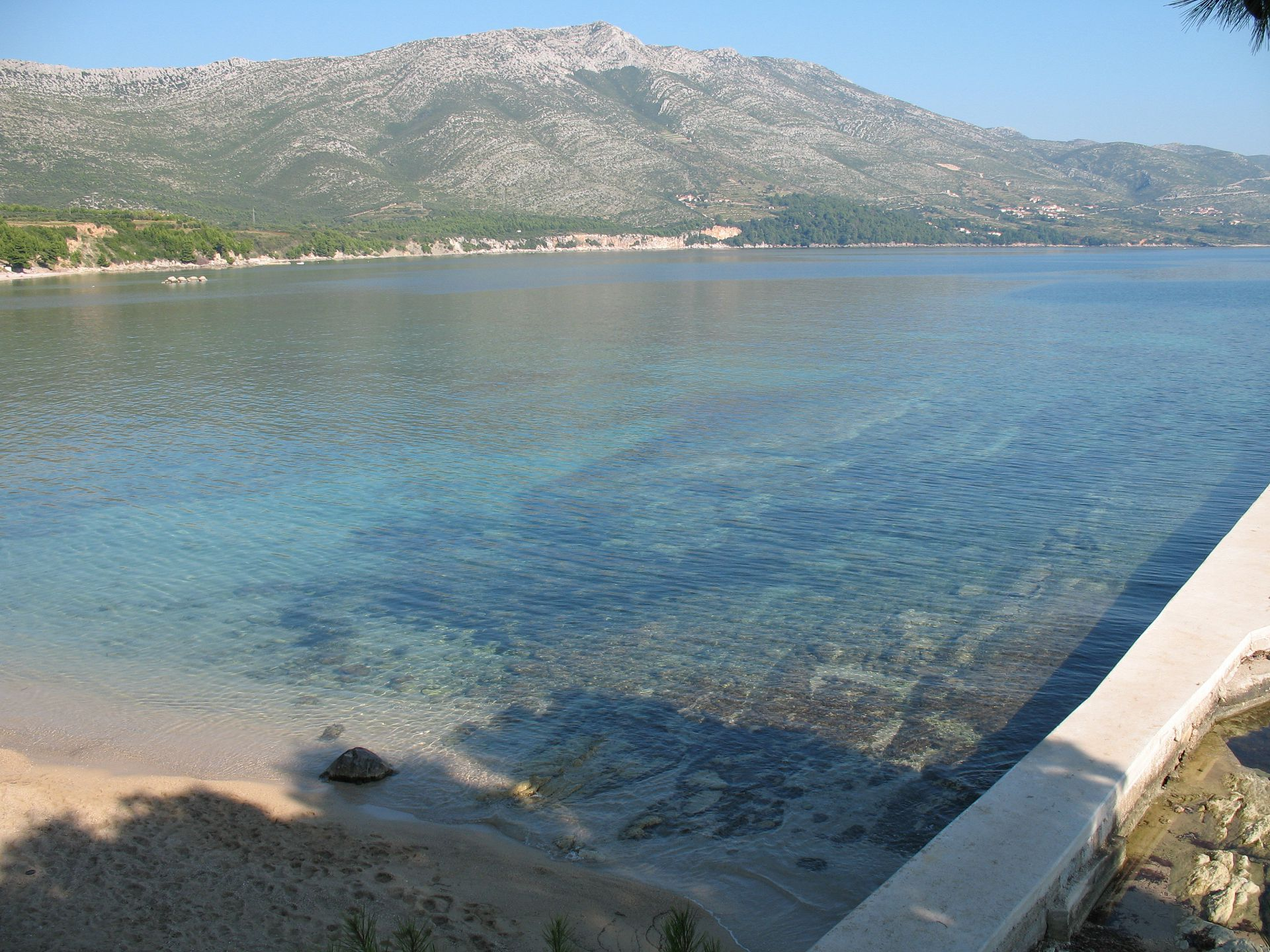 02017OREB - Orebic - Appartementen Kroatië - strand
