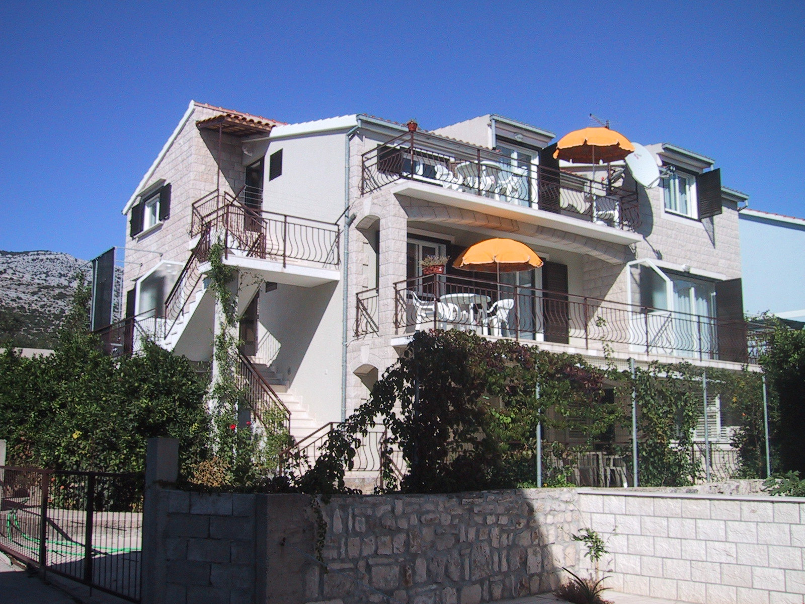 01917OREB - Orebic - Apartments Croatia