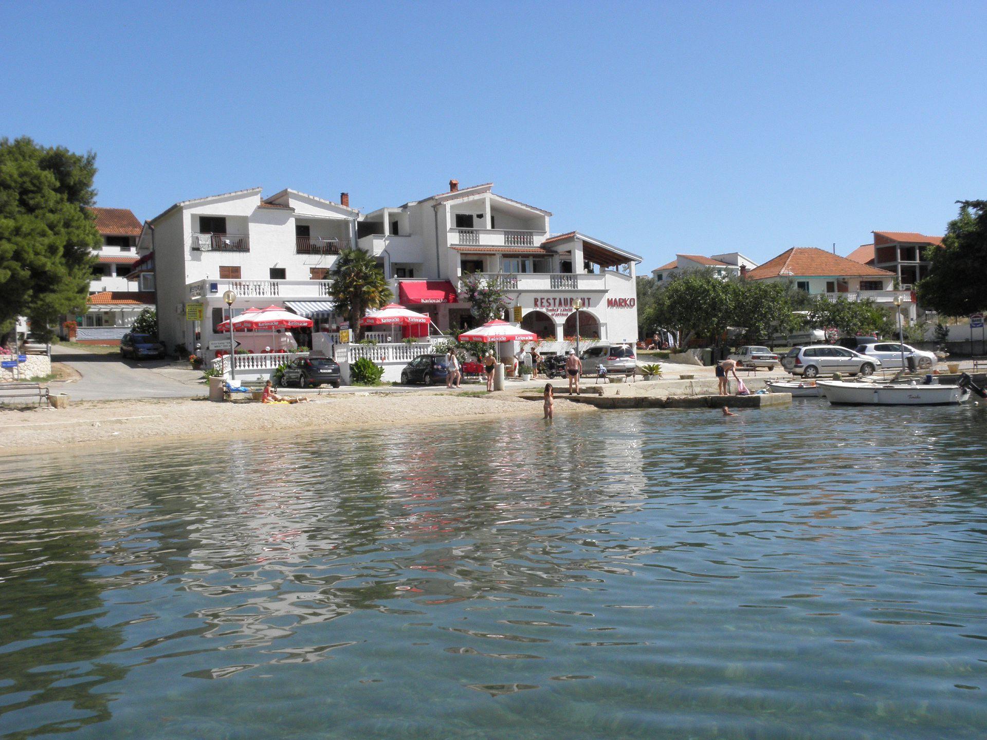 4554 - Drage - Apartmanok Horvátország - ház