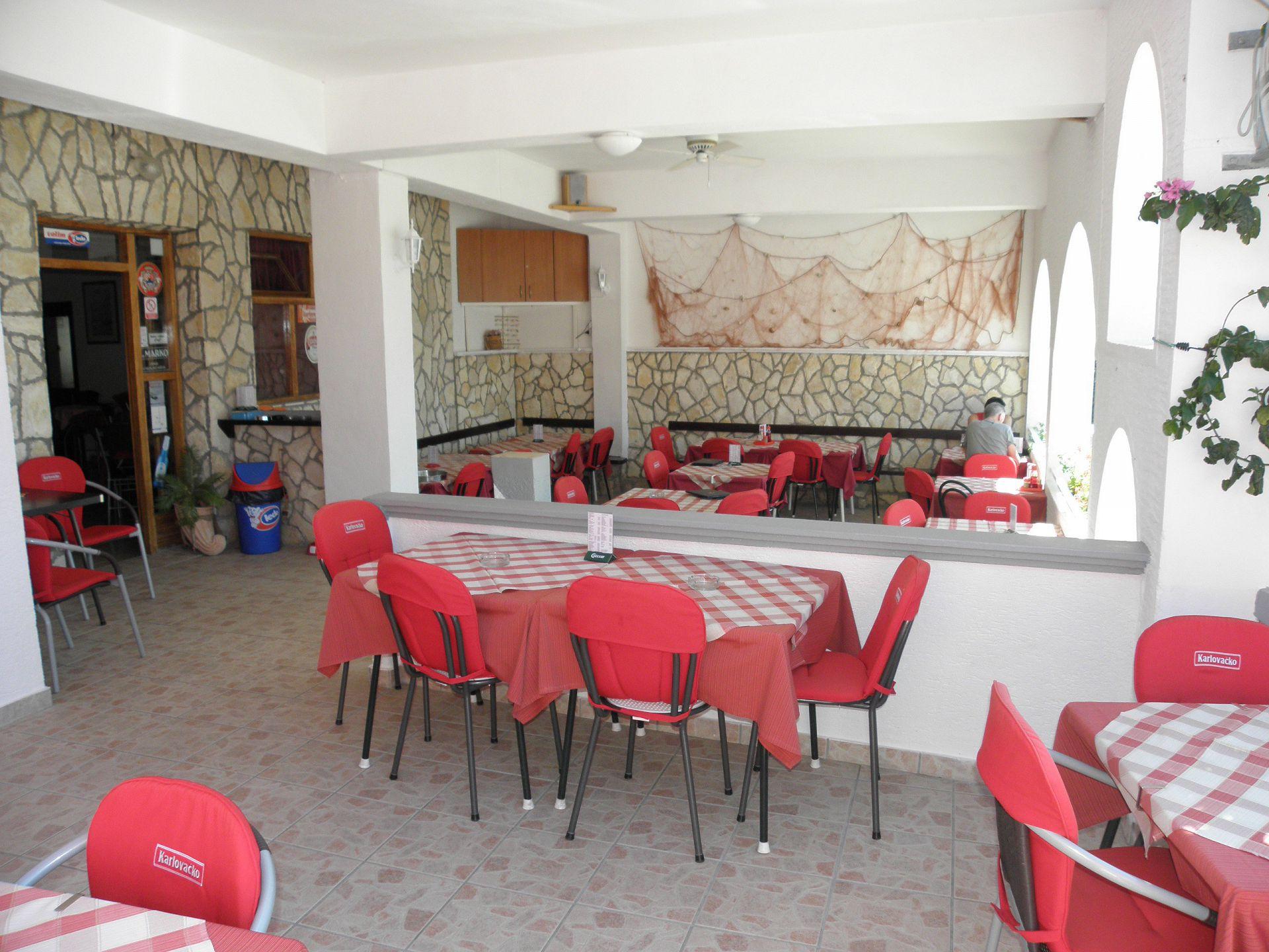 4554 - Drage - Apartmanok Horvátország - étterem