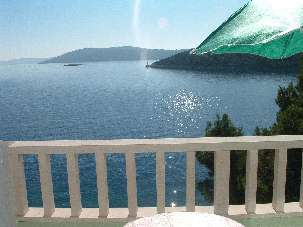 Ante Č - Vinisce - Appartementen Kroatië - A6(3): uitzicht op zee