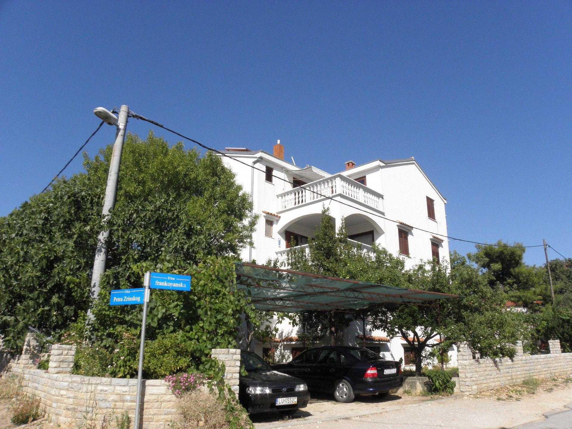 4556 - Pakoštane - Apartmány Chorvátsko