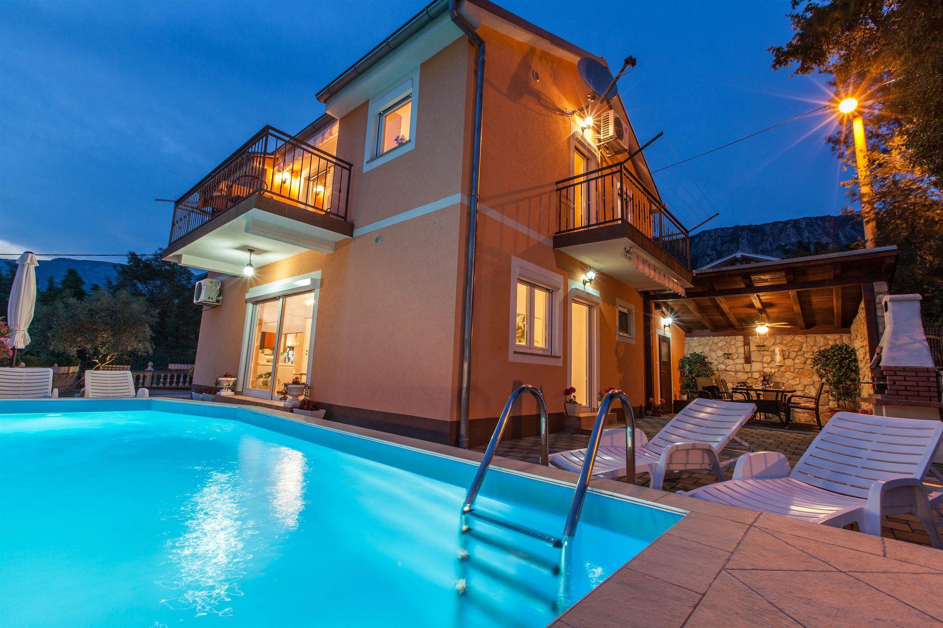 34998  - Grižane - Prázdninové domy, vily Chorvatsko