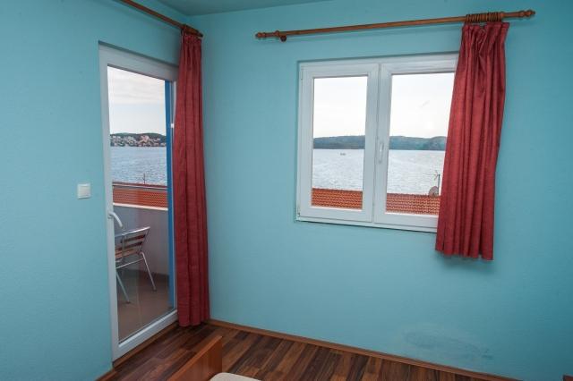 001TROG - Trogir - Appartements Croatie - A5(2+2): chambre à coucher