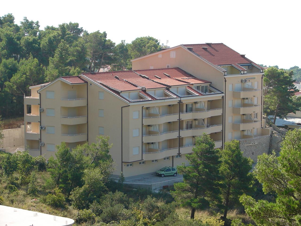 Suzi - Baska Voda - Appartementen Kroatië