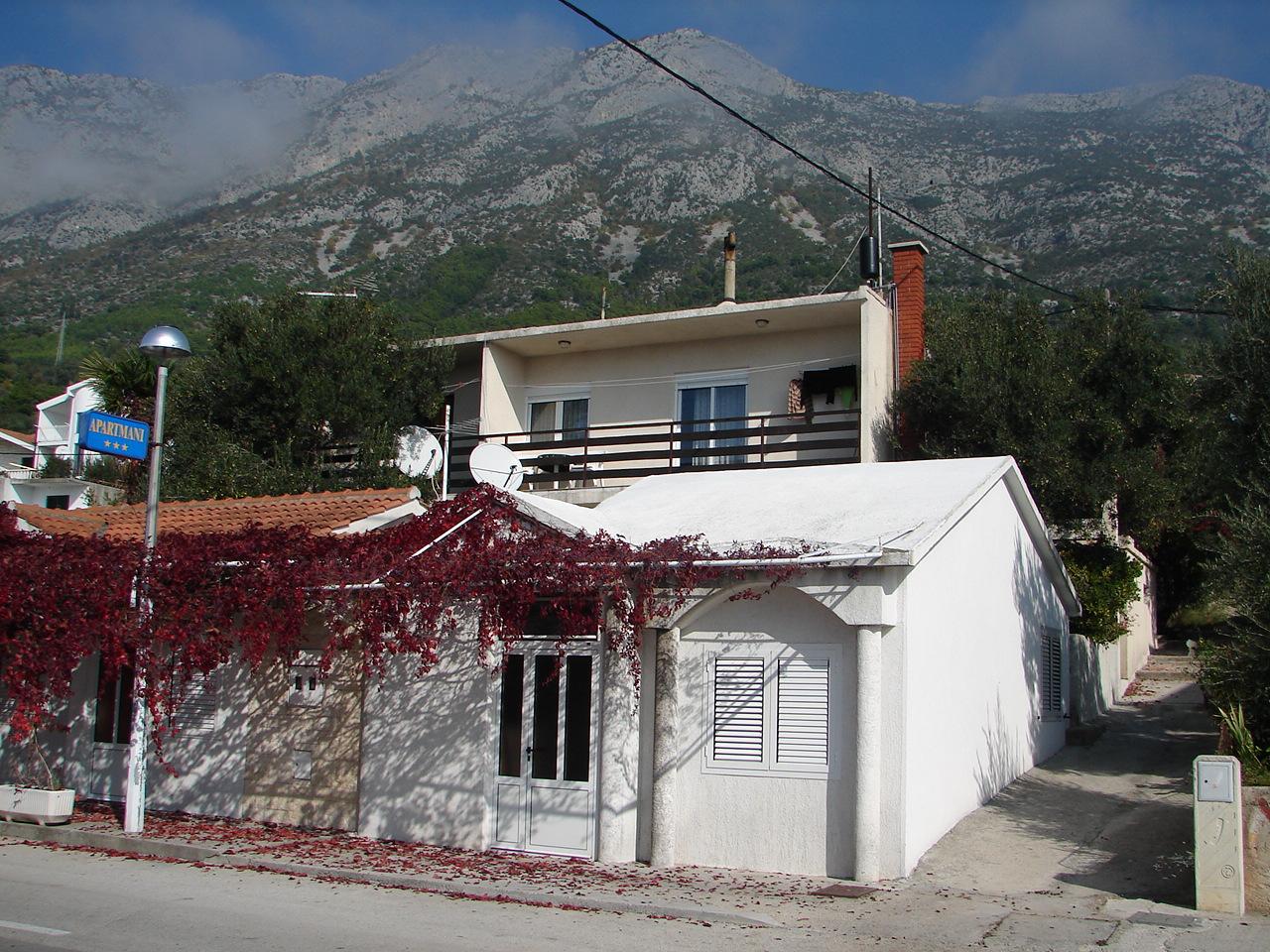 ZB - Gradac - Appartementen Kroatië