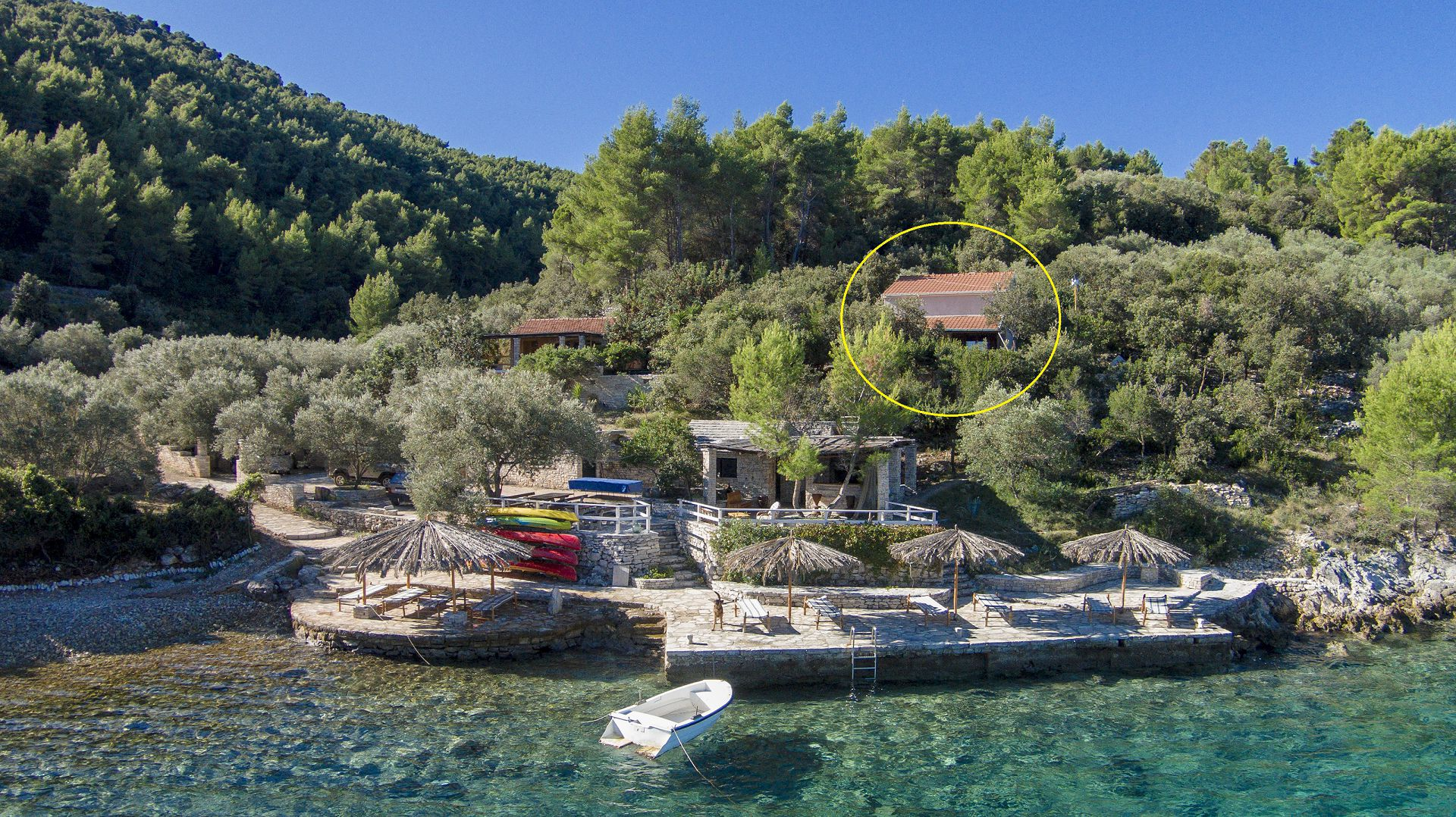 B1214VLUK  - Cove Picena (Vela Luka) - Holiday houses, villas Croatia