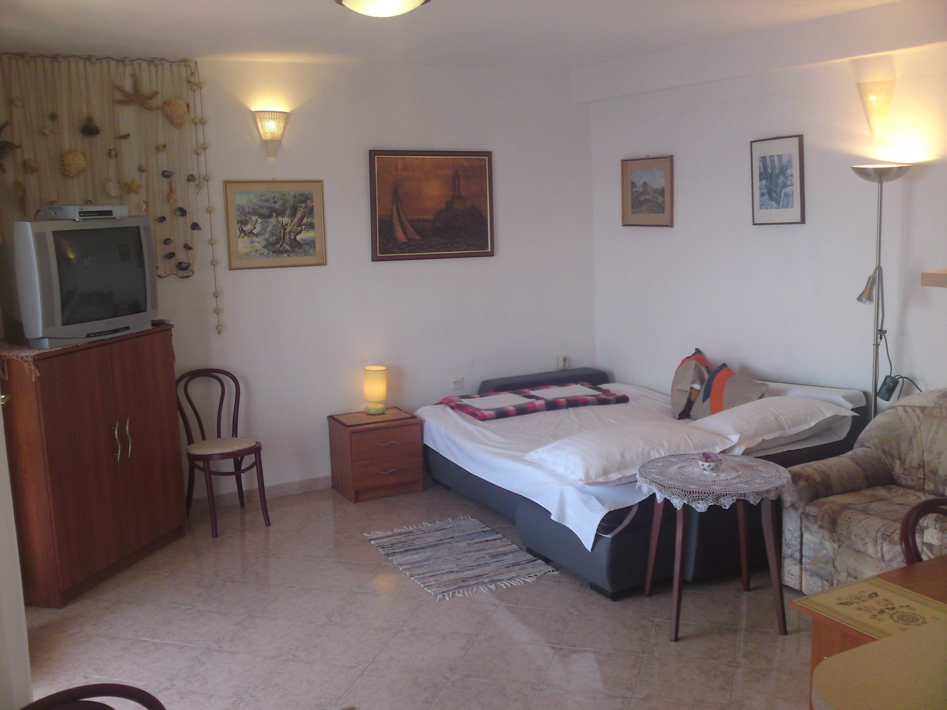00209PISA  - Pisak - Ferienwohnungen Kroatien - A2 Istok (2+2): Tagesaufenthaltsraum